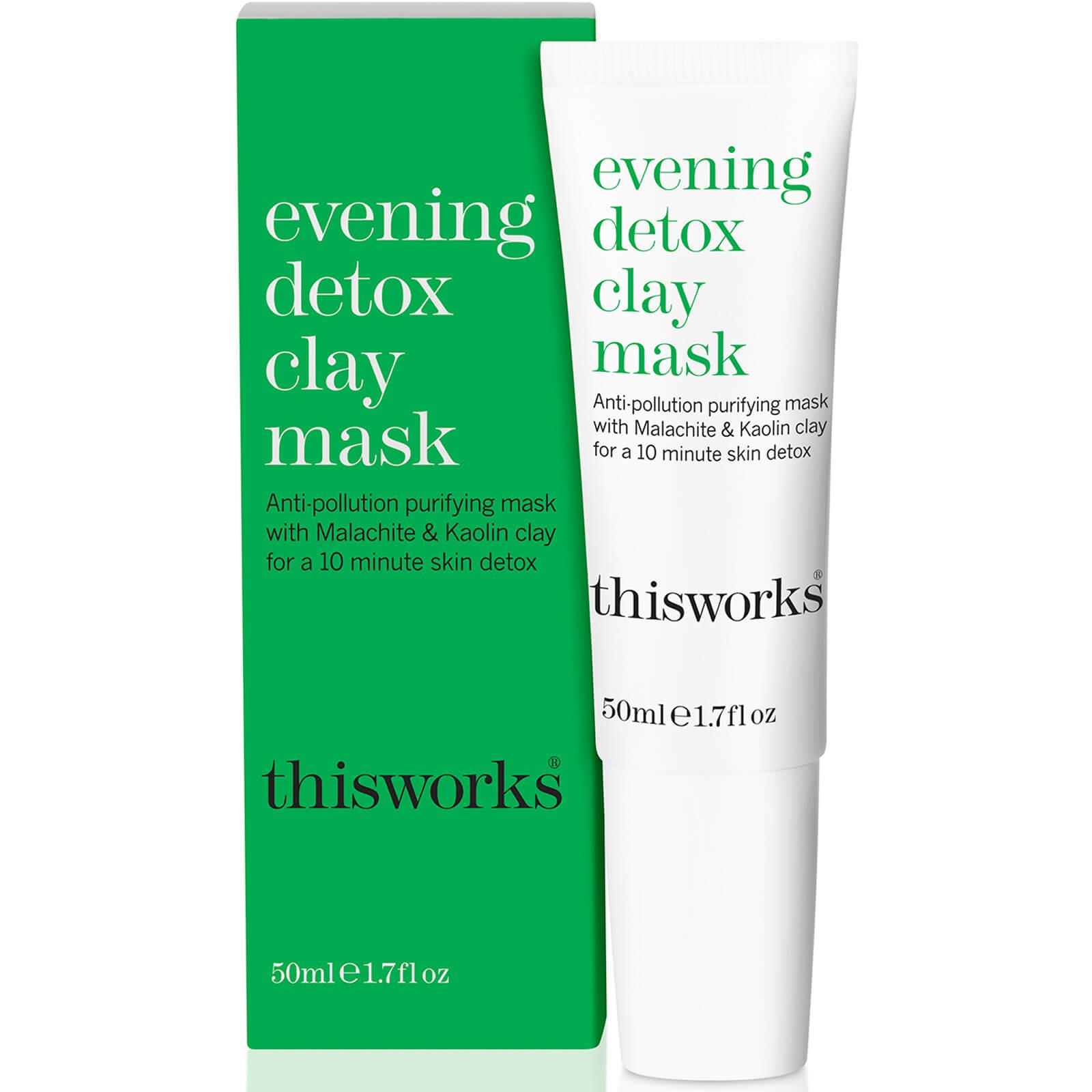 Купить Глиняная детокс-маска для лица this works Evening Detox Clay Mask 50 мл