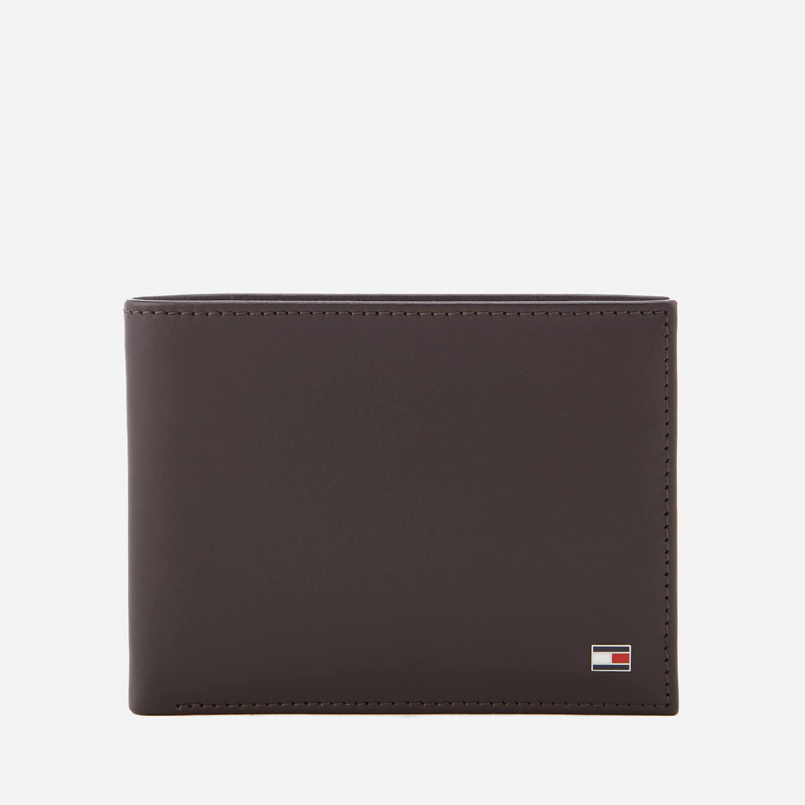 Tommy Hilfiger Men's Eton Credit Card and Coin Pocket Wallet - Brown