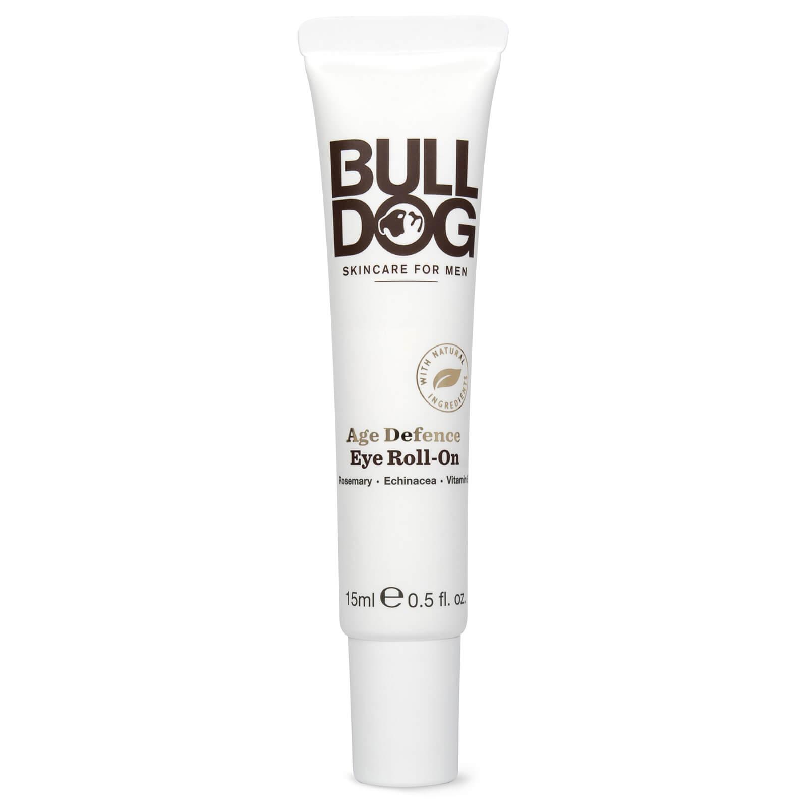 Купить Омолаживающее средство для кожи вокруг глаз с роликовым аппликатором для мужчин Bulldog Age Defence Eye Roll-On 15мл