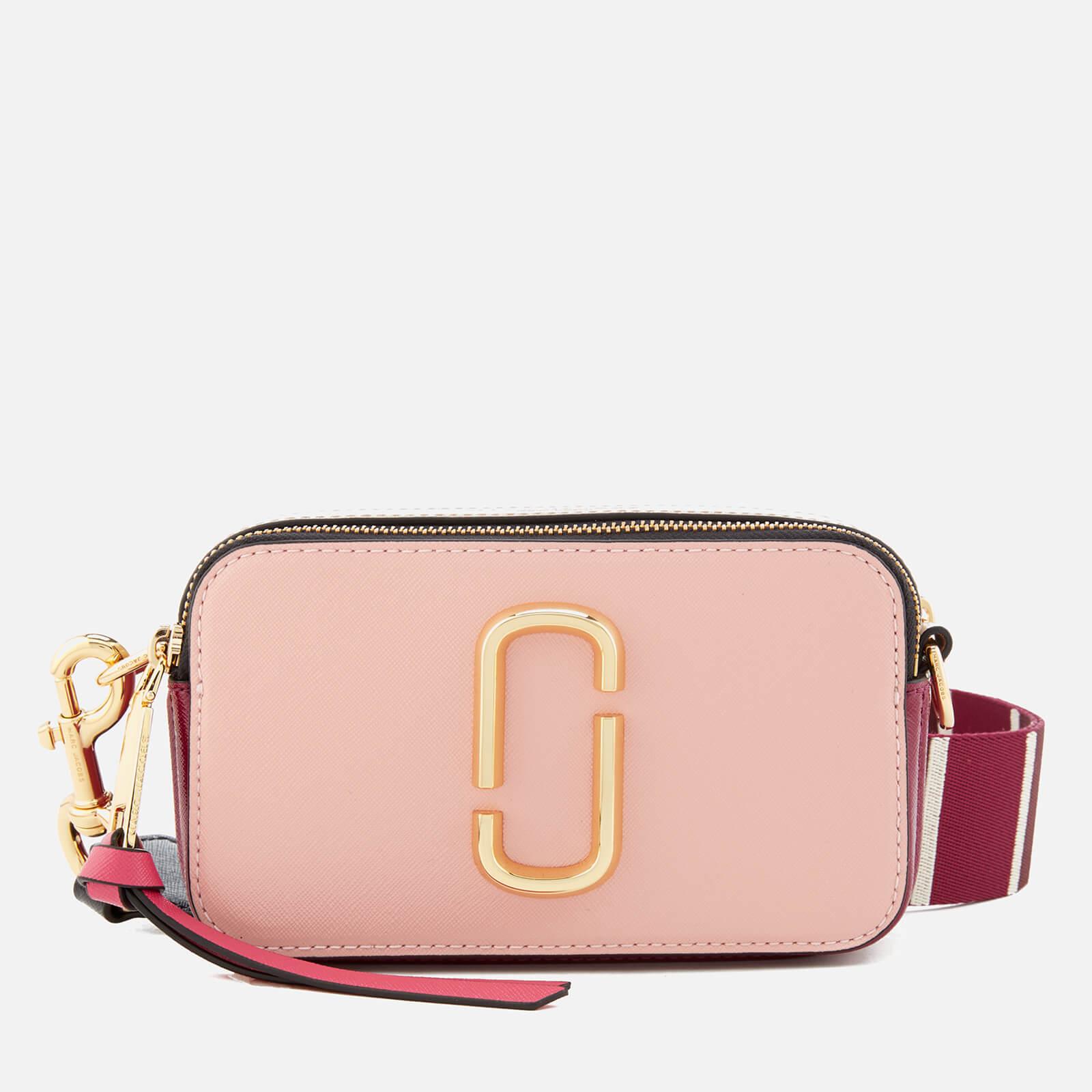 Marc Jacobs Women's Snapshot Cross Body Bag - Rose Multi