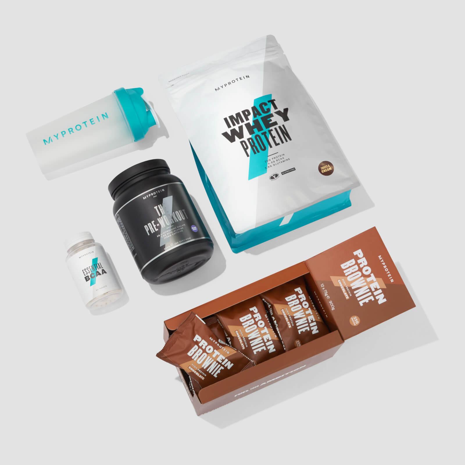 Купить Набор для студента - White Chocolate - Chocolate Brownie, Myprotein International