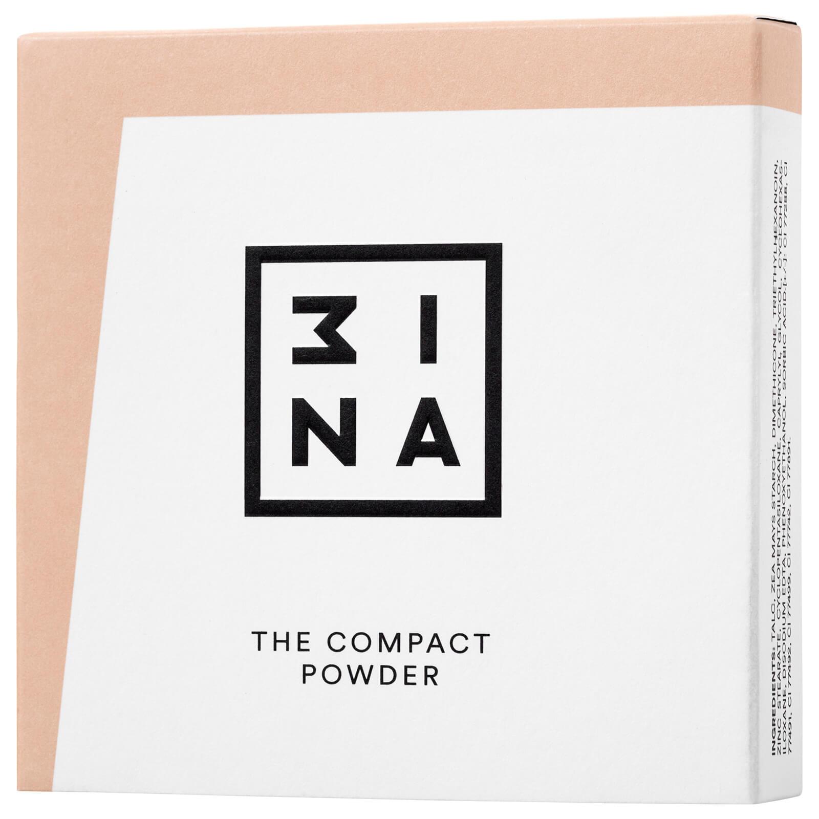 Купить Компактная пудра 3INA Compact Powder 11, 5г (различные оттенки) - 201