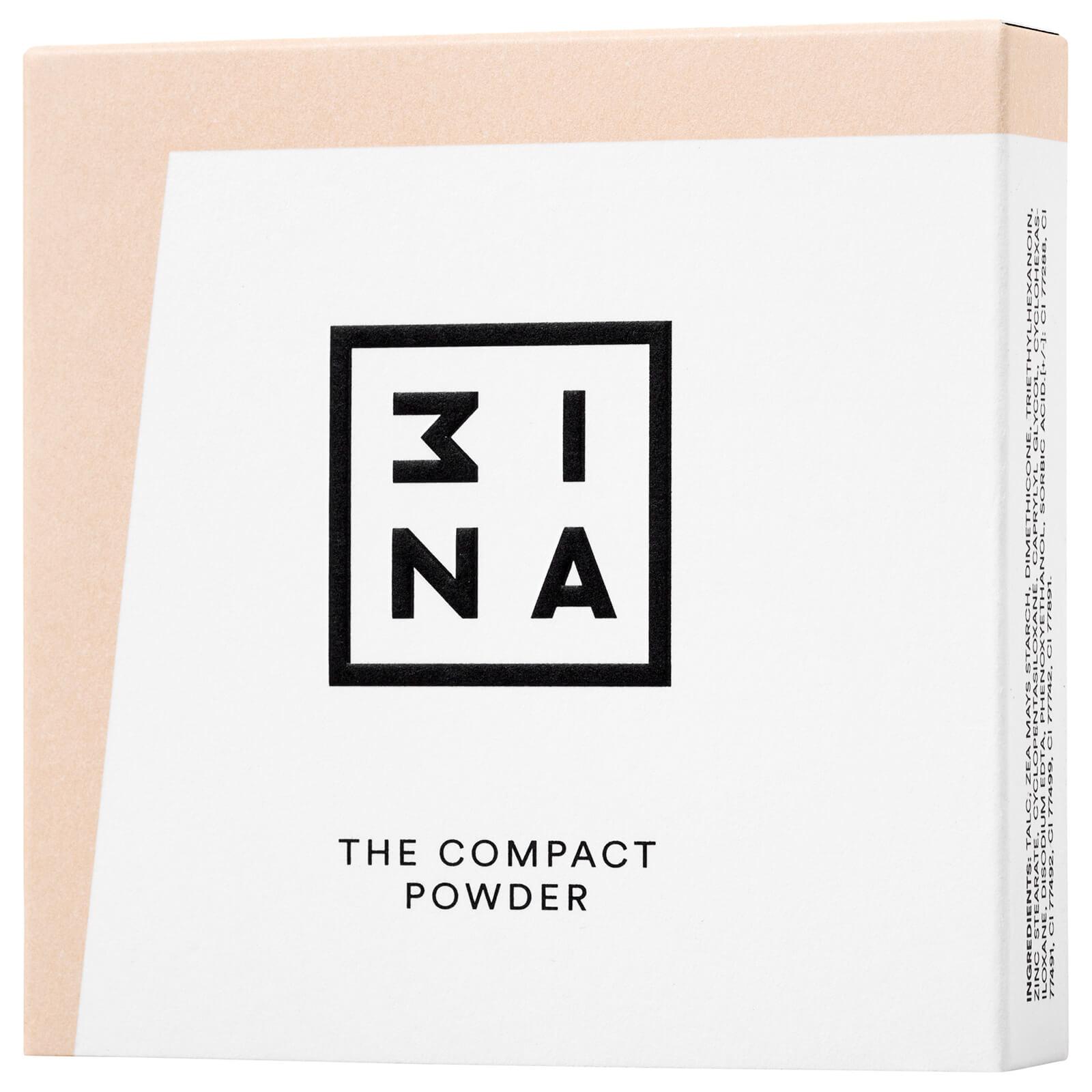 Купить Компактная пудра 3INA Compact Powder 11, 5г (различные оттенки) - 202