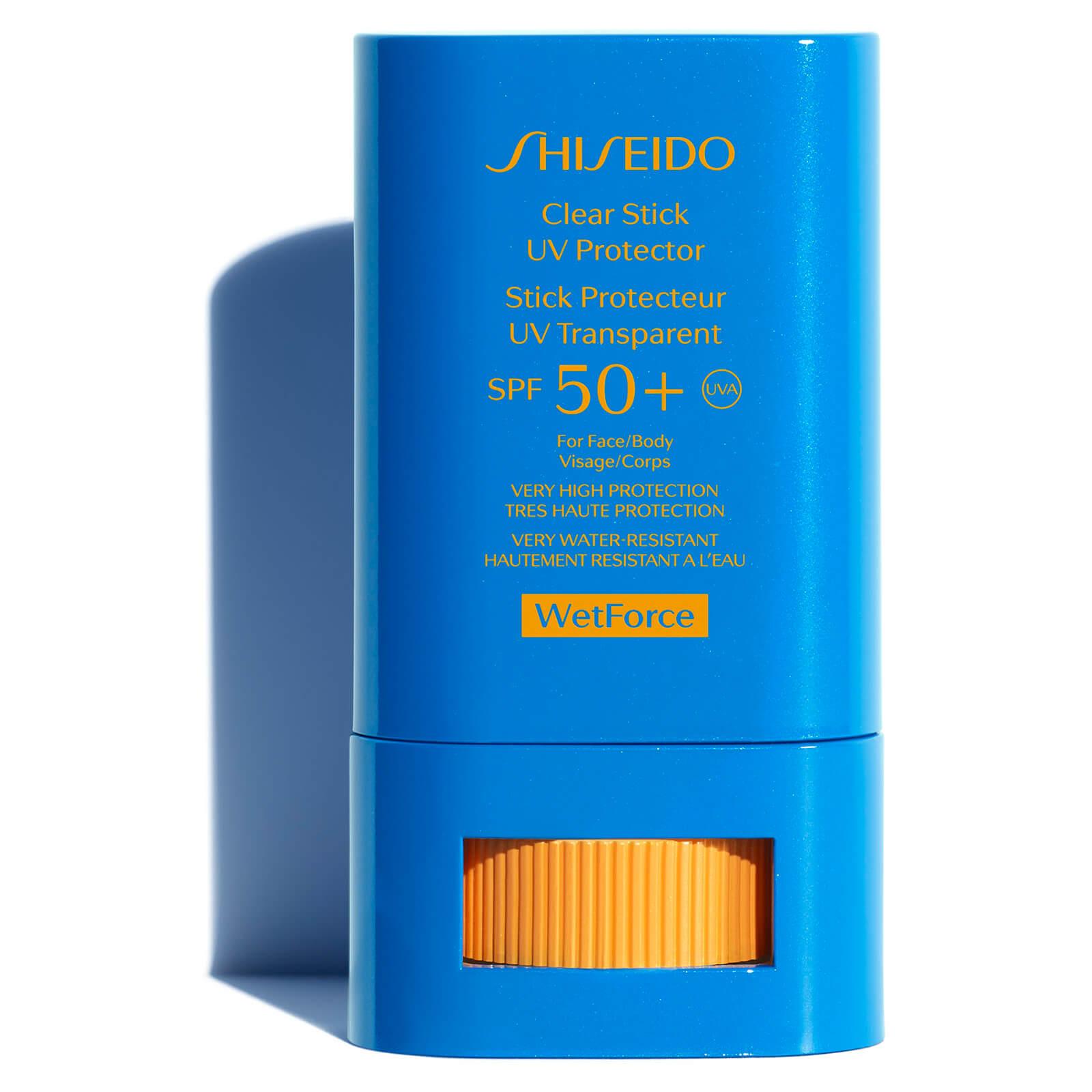Купить Прозрачный солнцезащитный стик Shiseido Clear Stick UV Protector 15г
