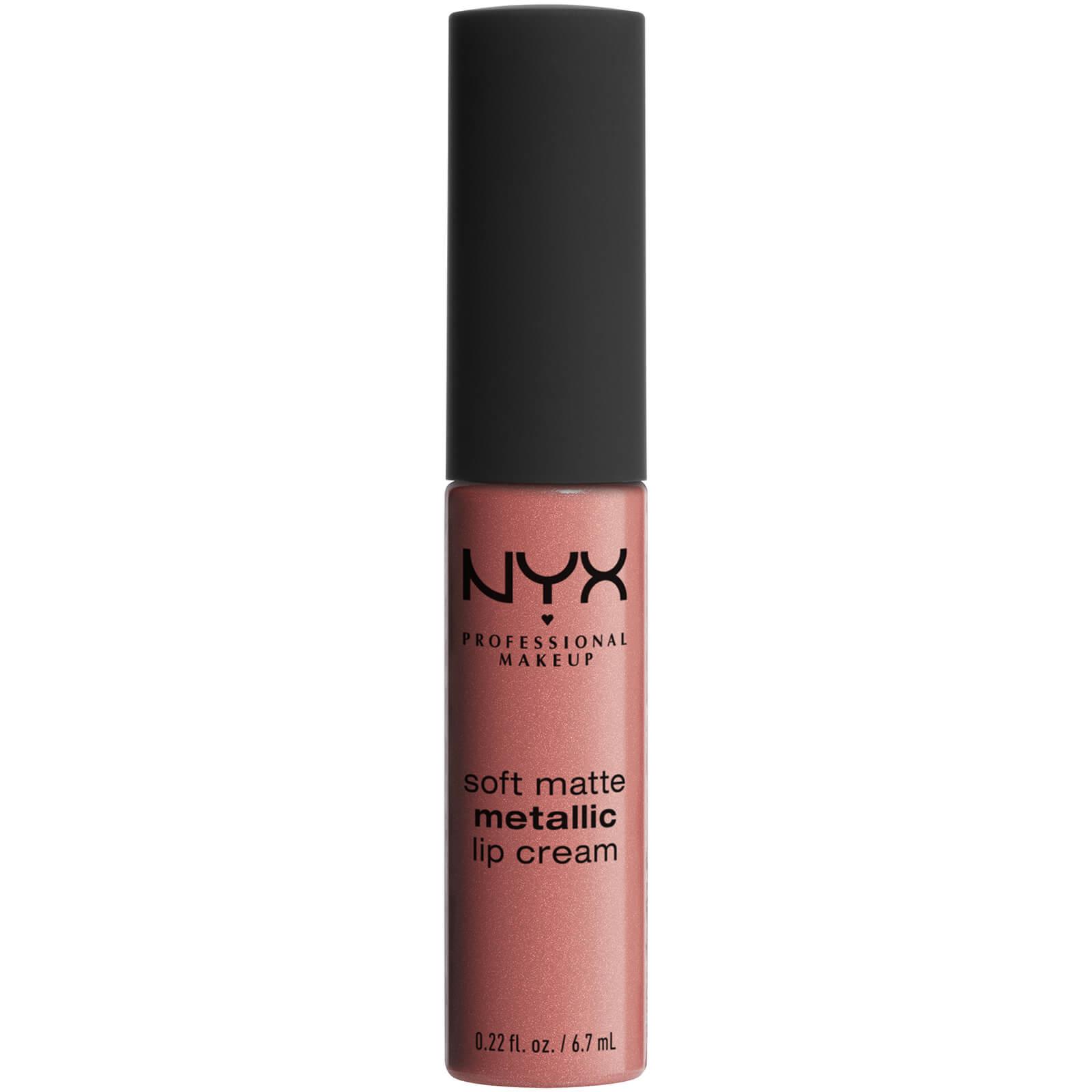 Купить Матовая жидкая помада-крем с металлическим финишем NYX Professional Makeup Soft Matte Metallic Lip Cream (различные оттенки) - Cannes