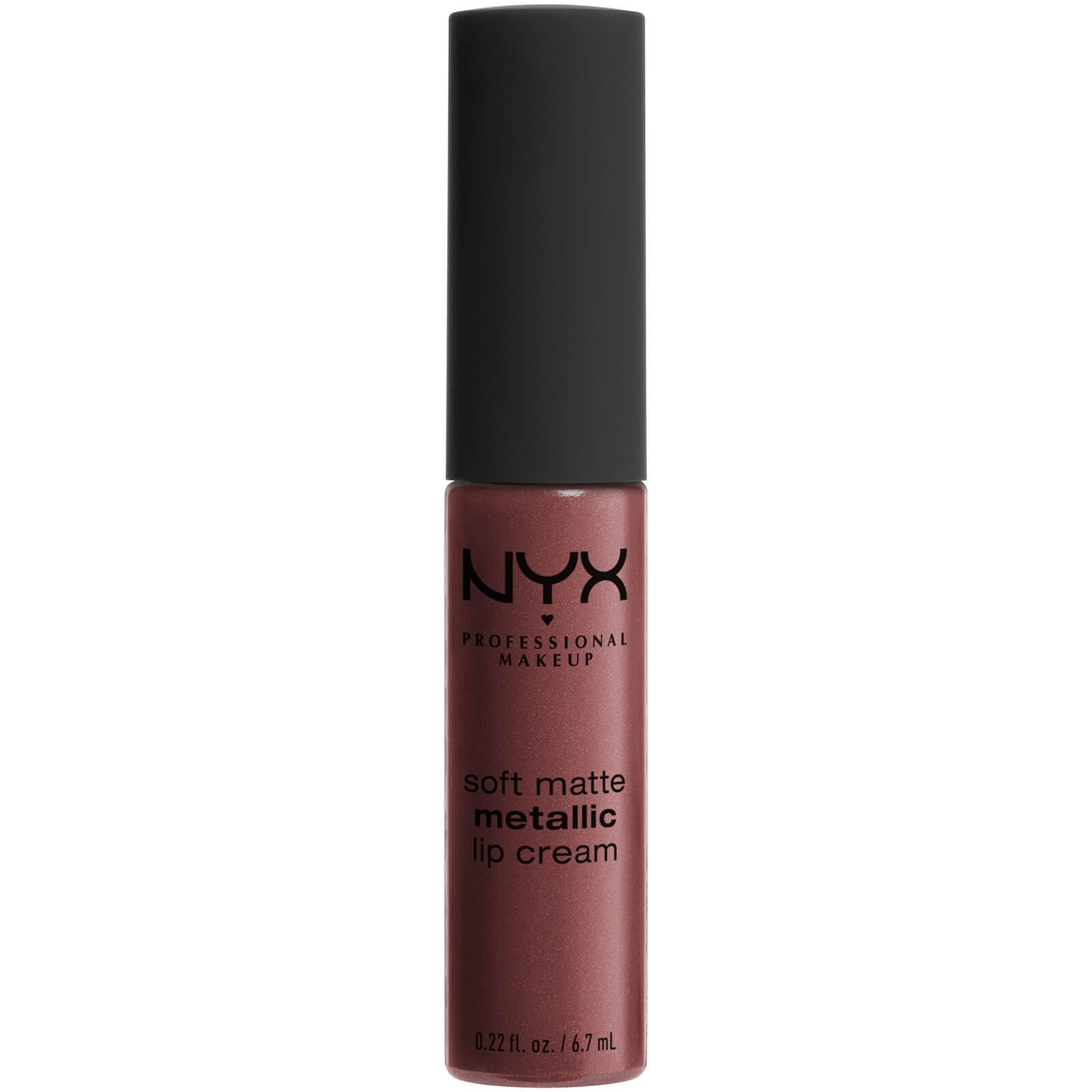Купить Матовая жидкая помада-крем с металлическим финишем NYX Professional Makeup Soft Matte Metallic Lip Cream (различные оттенки) - Rome
