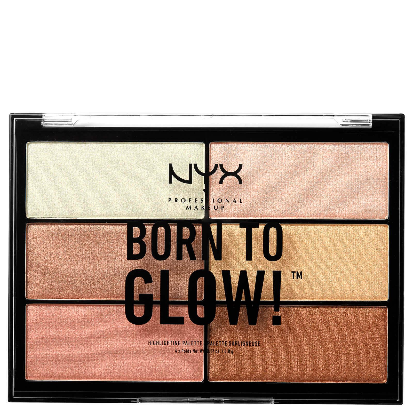 Купить Палетка хайлайтеров NYX Professional Makeup Born to Glow Highlighting Palette