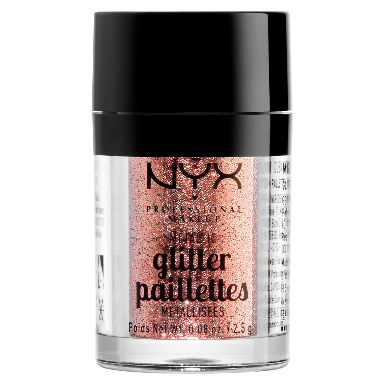 Купить Глиттер для лица и тела NYX Professional Makeup Metallic Glitter - Dubai Bronze