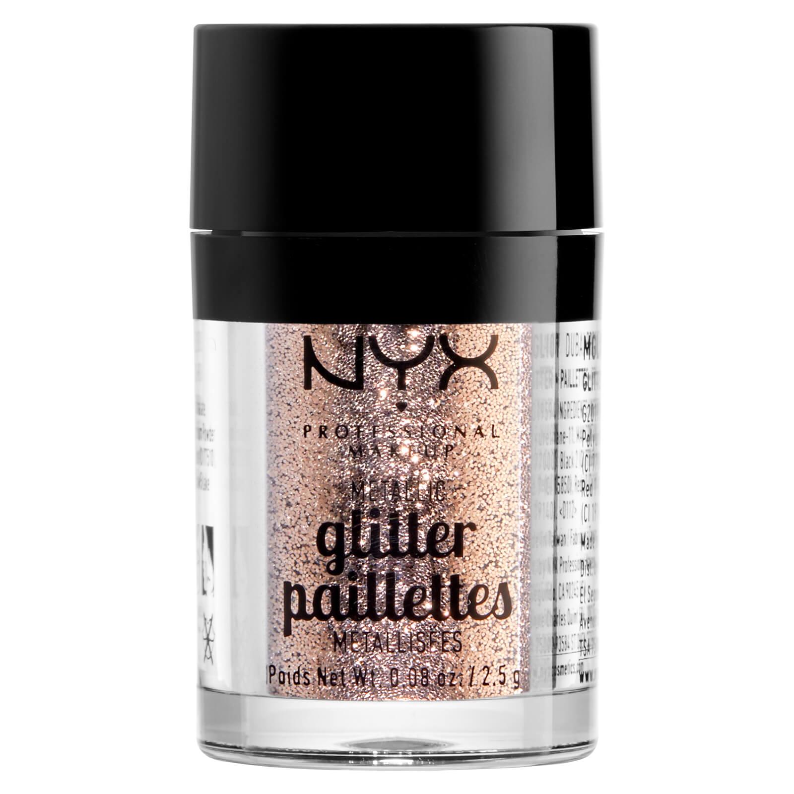 Купить Глиттер для лица и тела NYX Professional Makeup Metallic Glitter - Goldstone