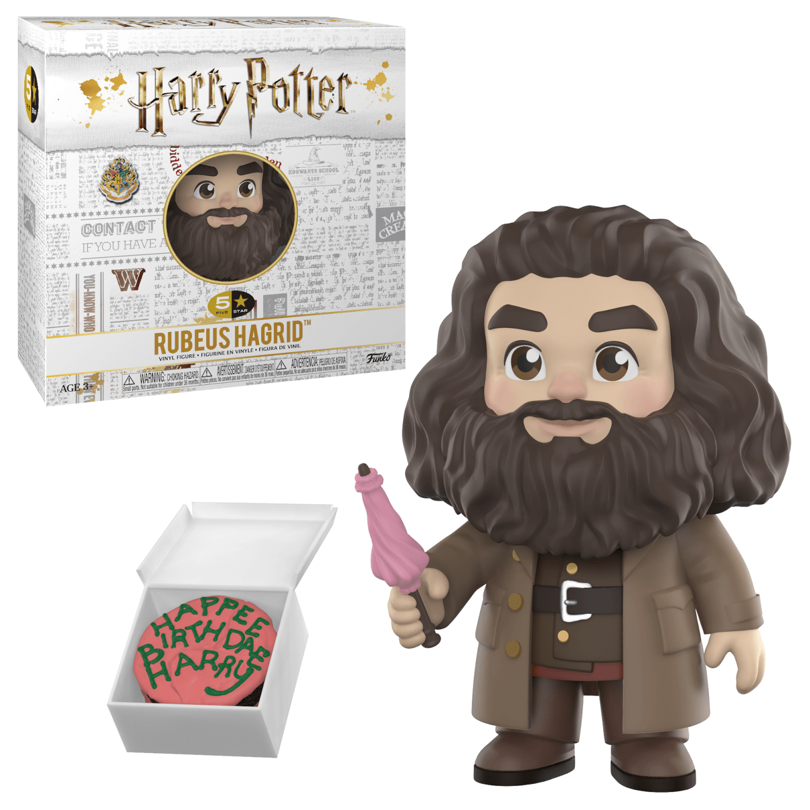 Figura Funko 5 Star Rubeus Hagrid – Harry Potter