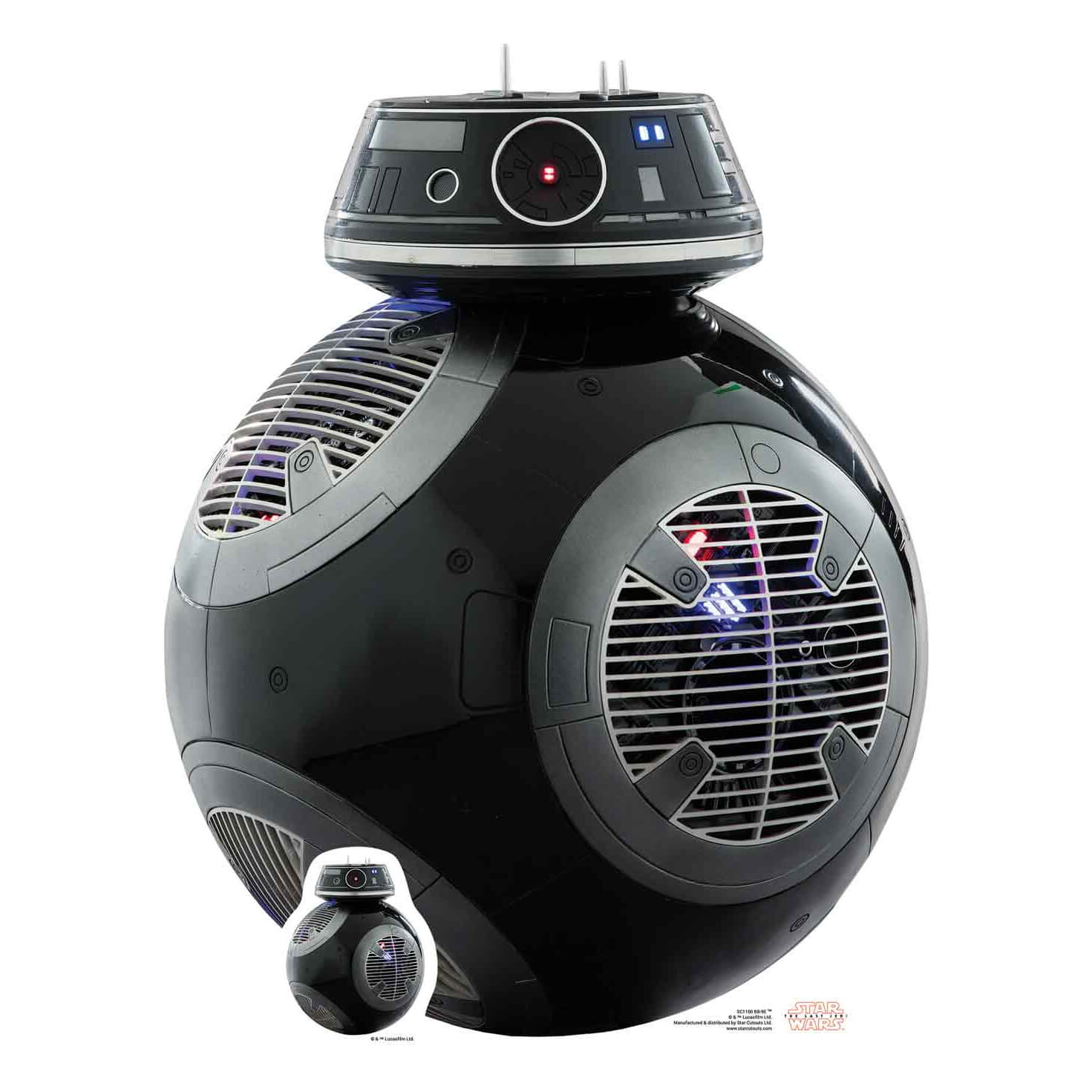 Image of Star Wars: The Last Jedi BB-9E Star Mini Cut Out