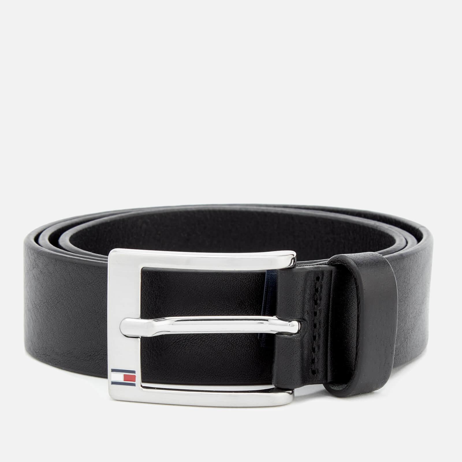 Tommy Hilfiger Men's New Aly Belt - Black - 105cm/XXL - Black