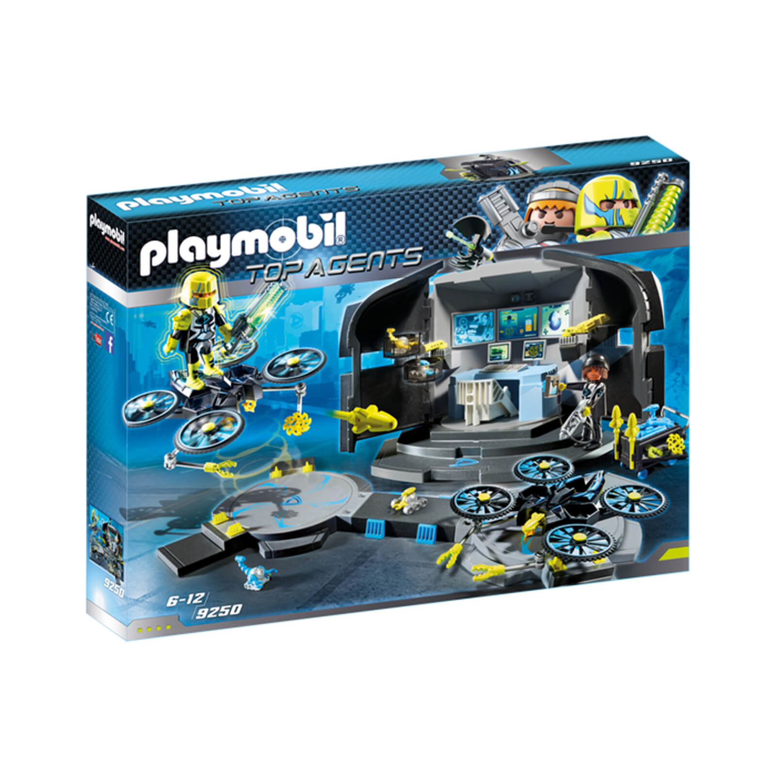 Playmobil Top Agents Dr. Drones Command Base (9250)