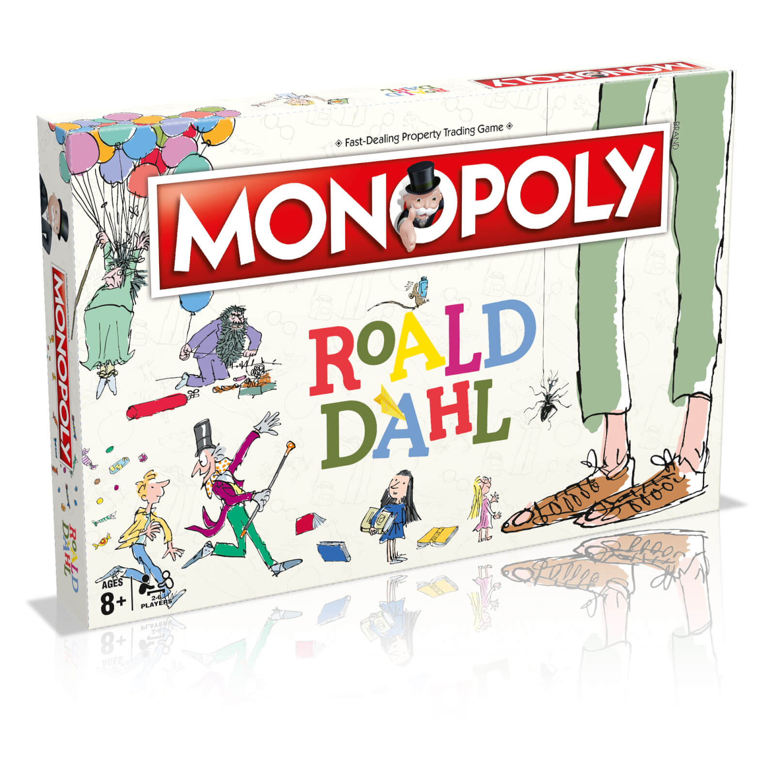 Image of Monopoly Board Game - Roald Dahl Edition