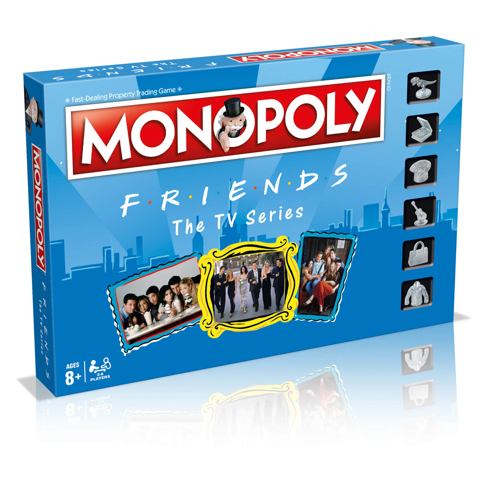 Image of Friends Monopoly Board Game