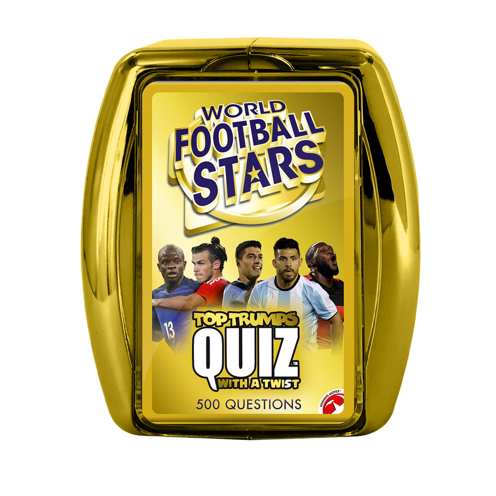 Image of Top Trumps Quiz Game - World Football Stars Edition