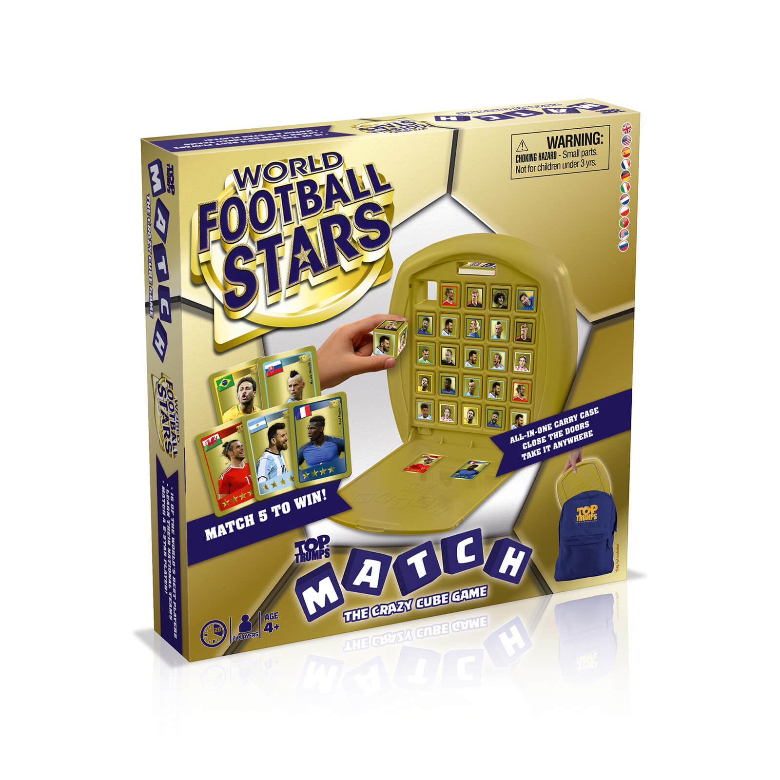 Image of Top Trumps Match Board Game - World Football Stars Edition