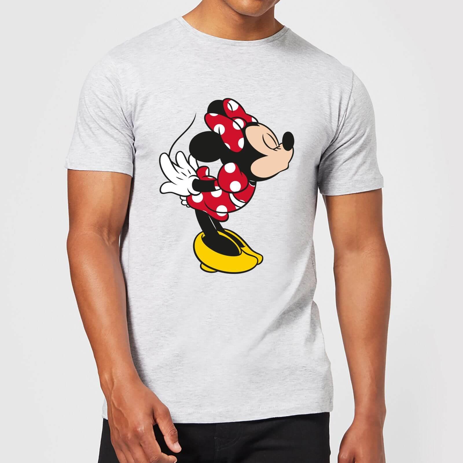 Disney Disney Mickey Mouse Minnie Split Kiss T-Shirt - Grey - 5XL - Grey