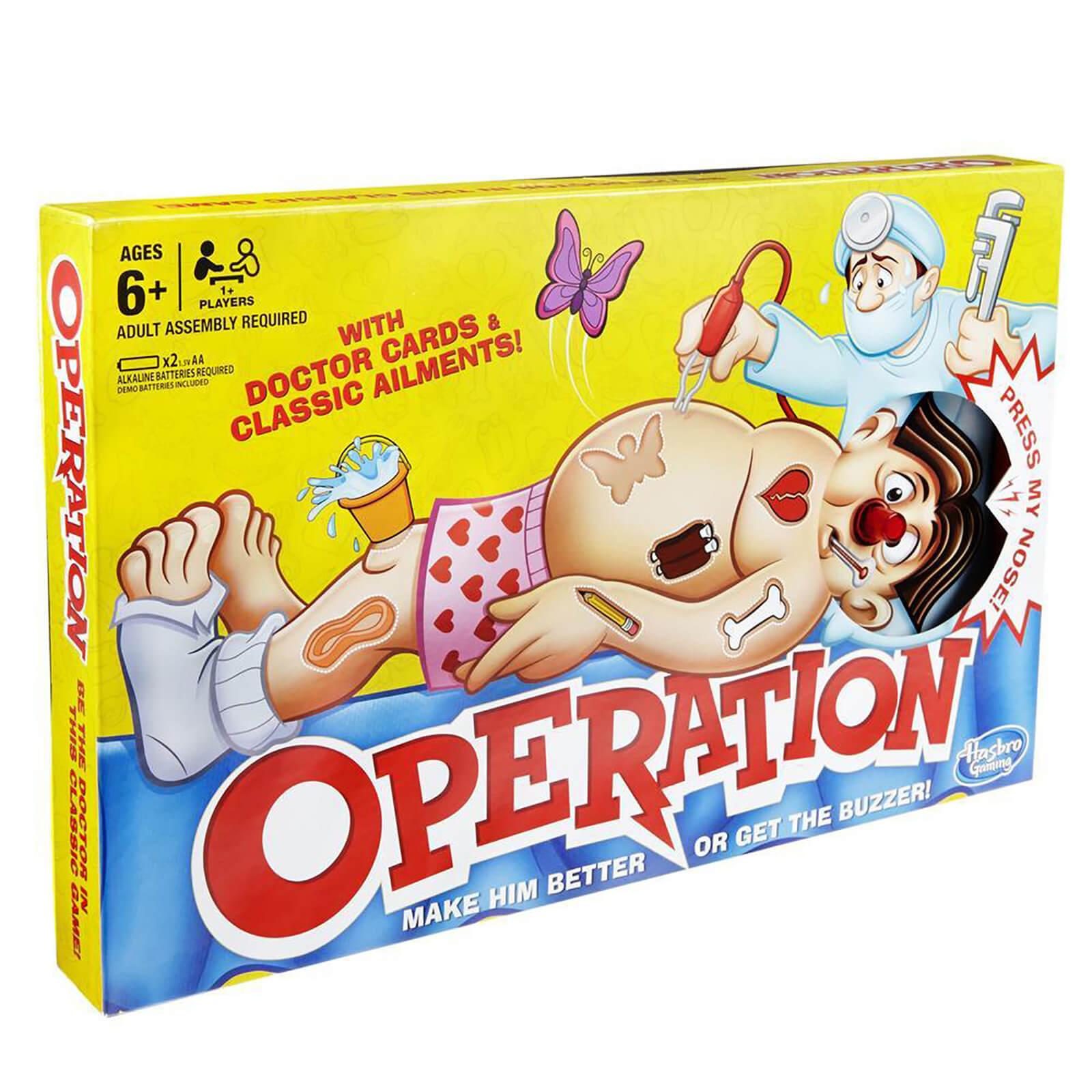 Image of Hasbro Gaming Classic Operation