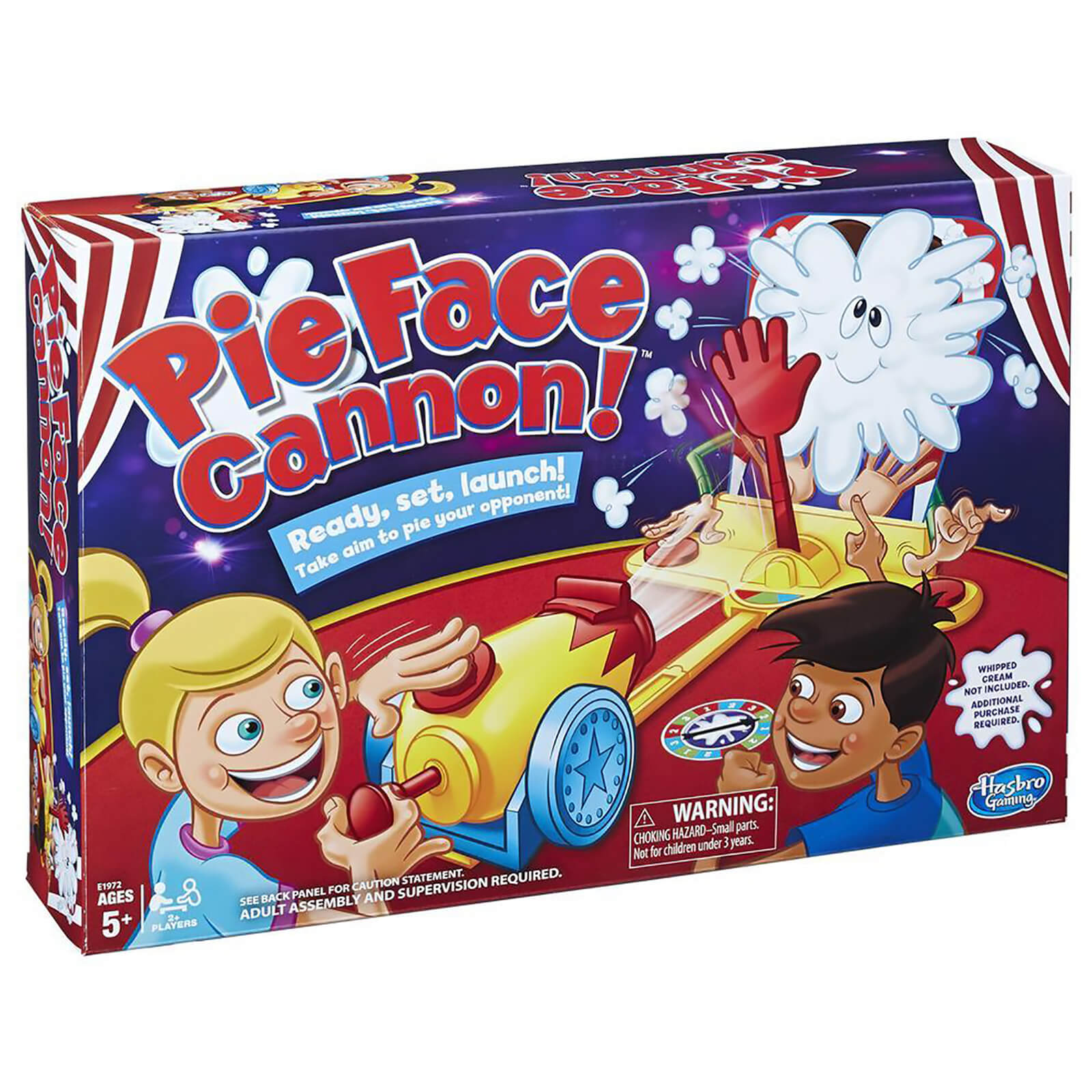 Image of Hasbro Gaming Pie Face Cannon