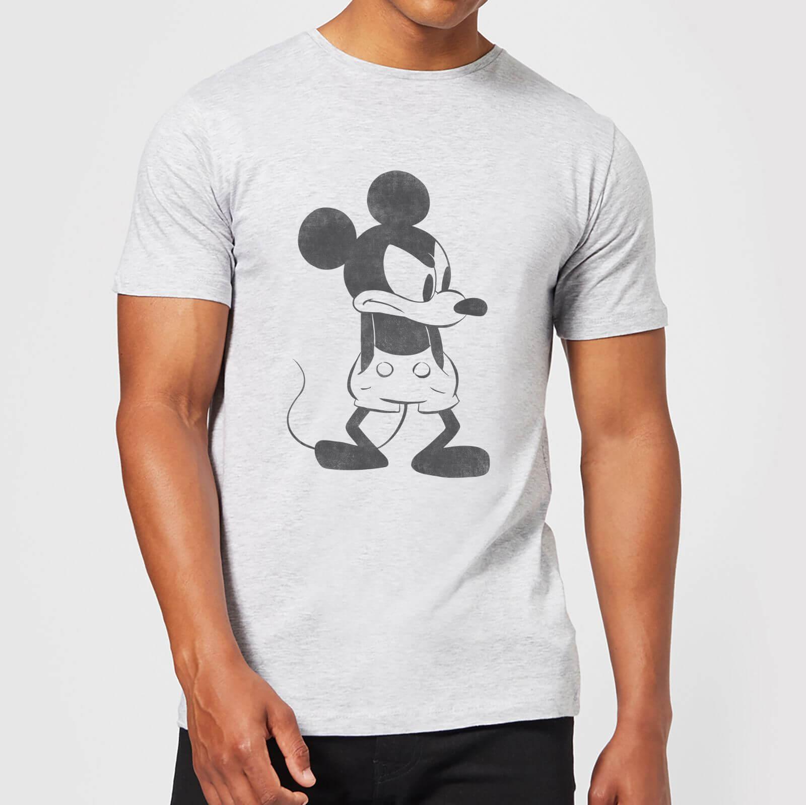 Disney Disney Mickey Mouse Angry T-Shirt - Grey - 4XL - Grey