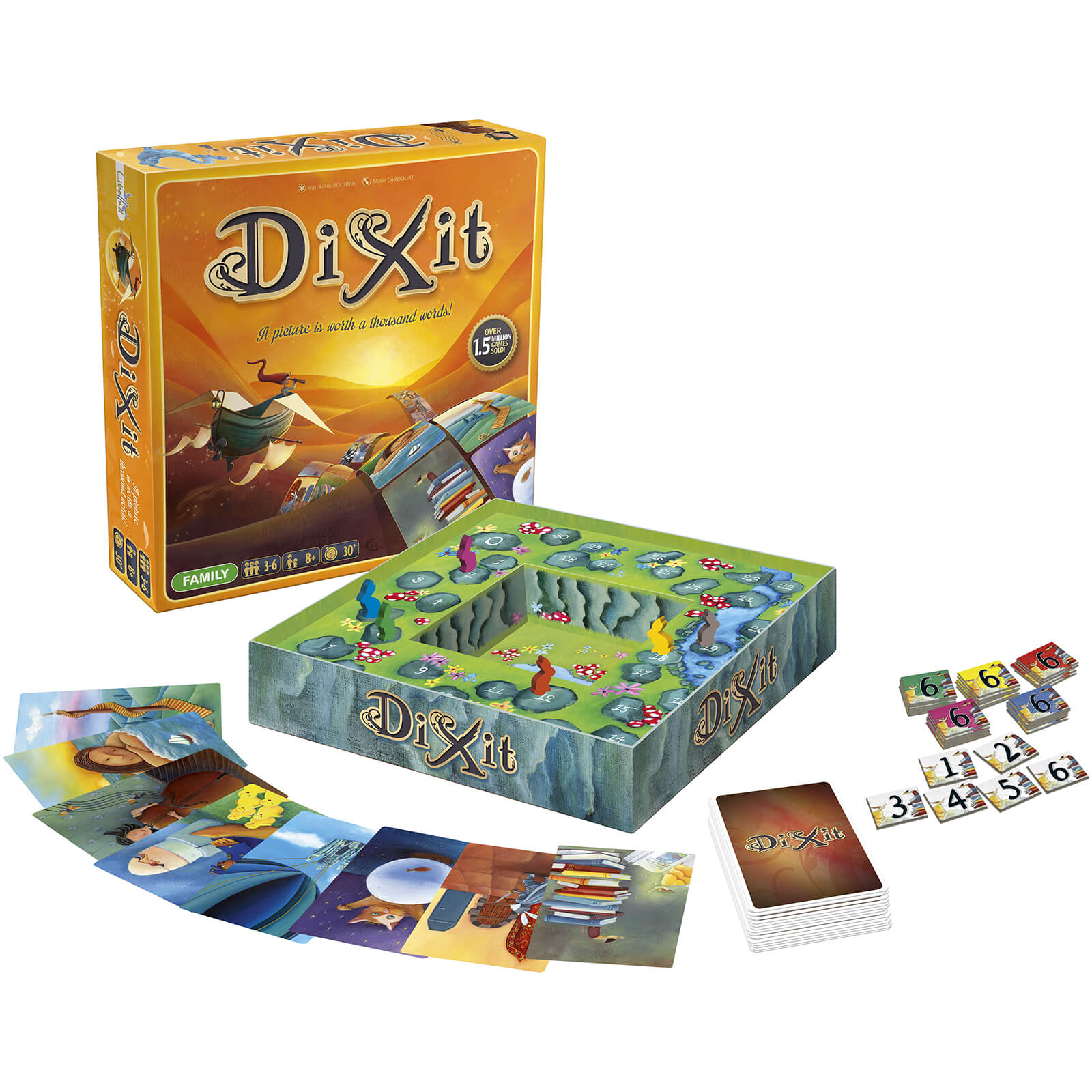 Image of Dixit Board Game