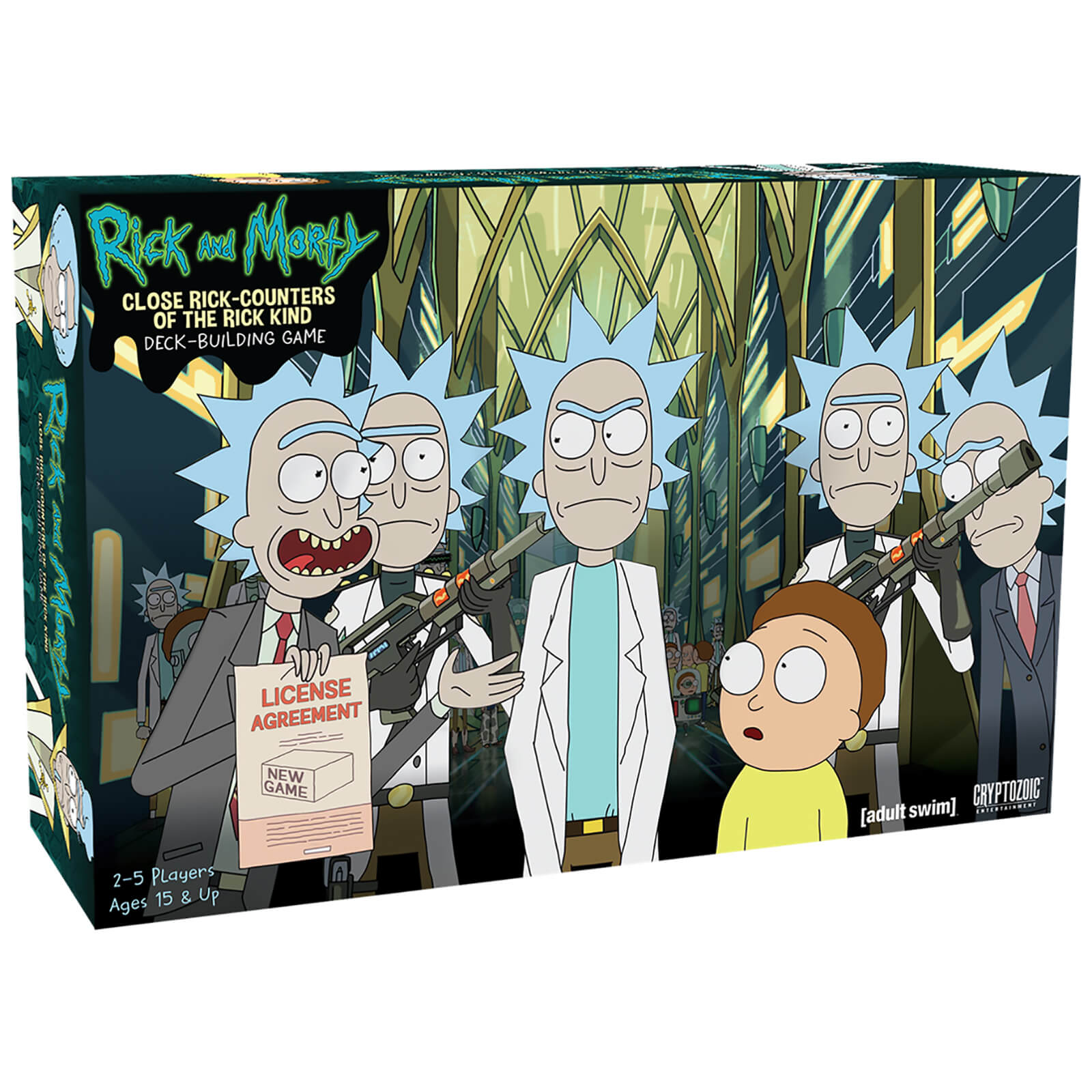 Image of Close Rick Counters of the Rick Kind Deck Building: Rick and Morty