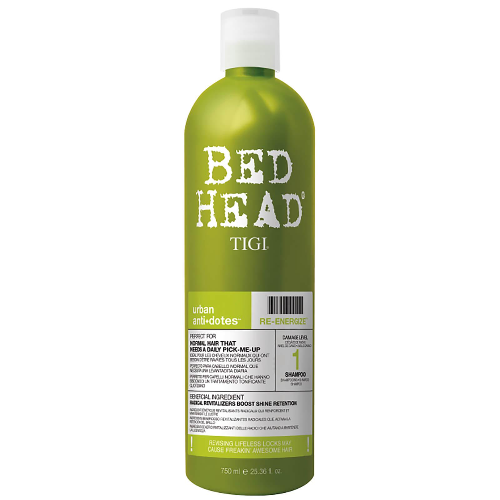 Купить Шампунь для нормальных волос уровень 1 TIGI Bed Head Urban Antidotes Re-energize Daily Shampoo for Normal Hair 750 мл