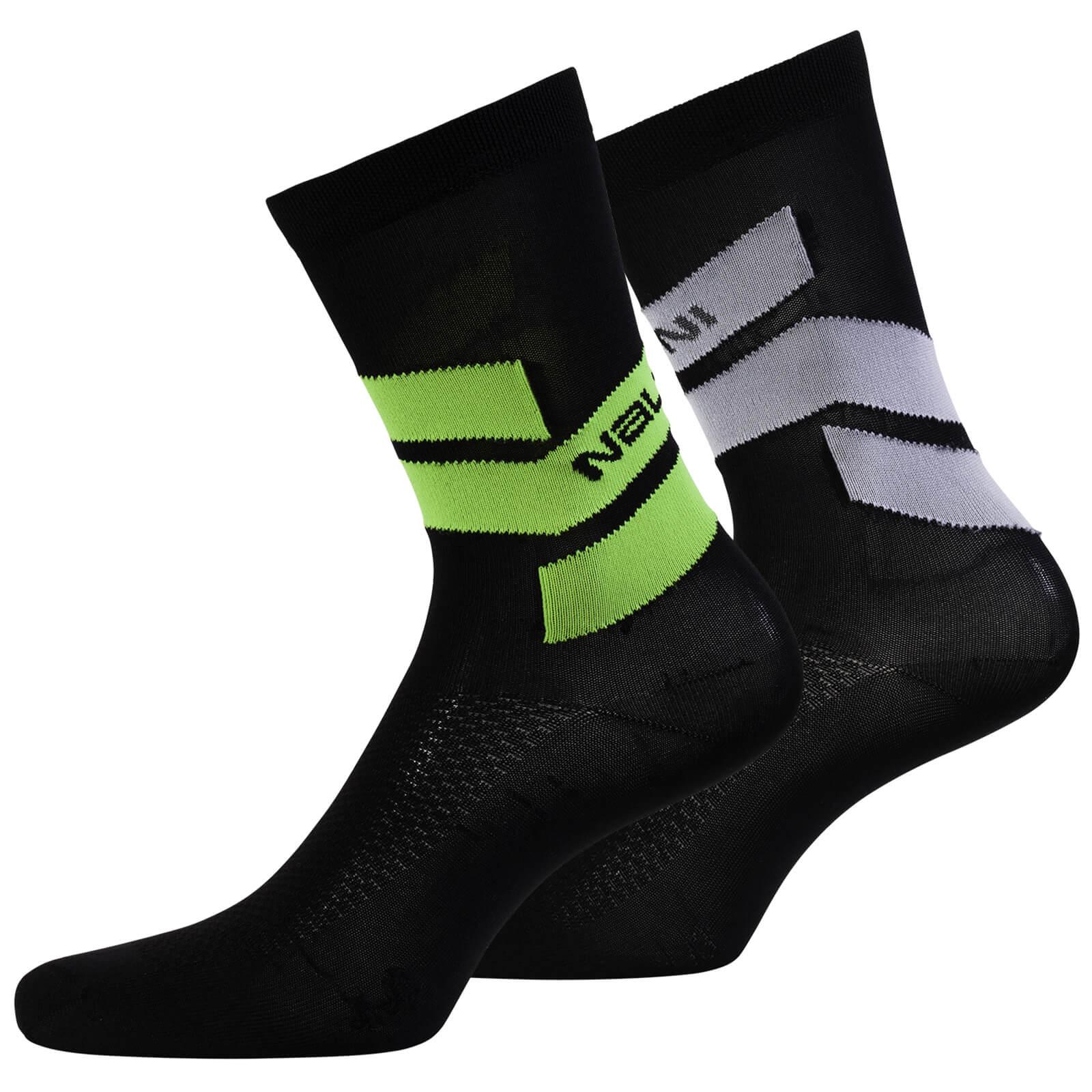 Nalini Folgore Socks - Black - XS - Black