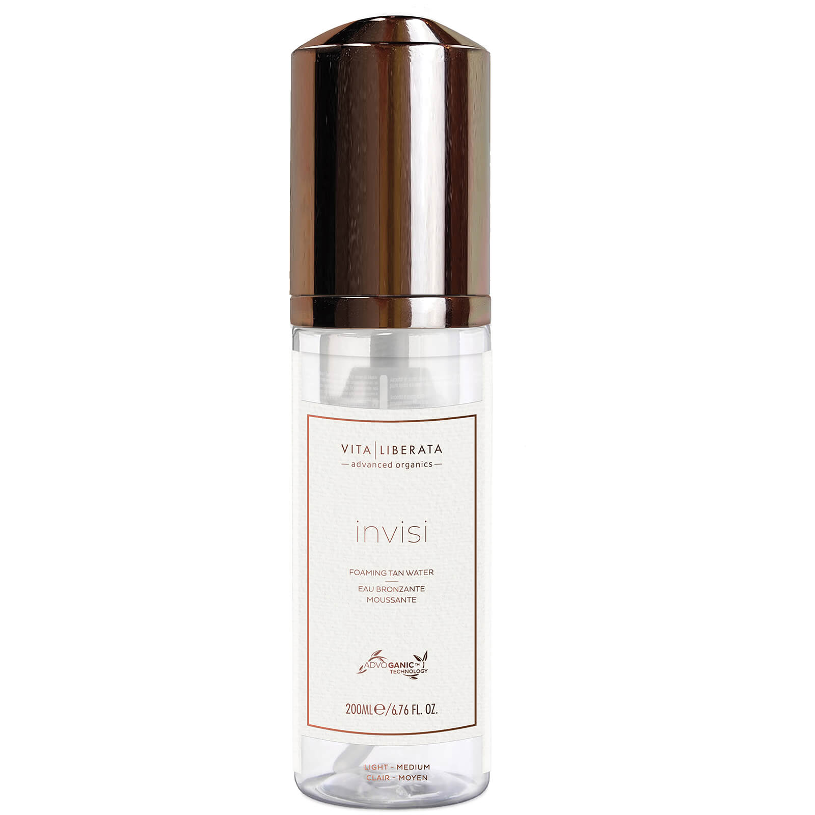Vita Liberata Invisi Foaming Tan Water - Light/Medium 200ml
