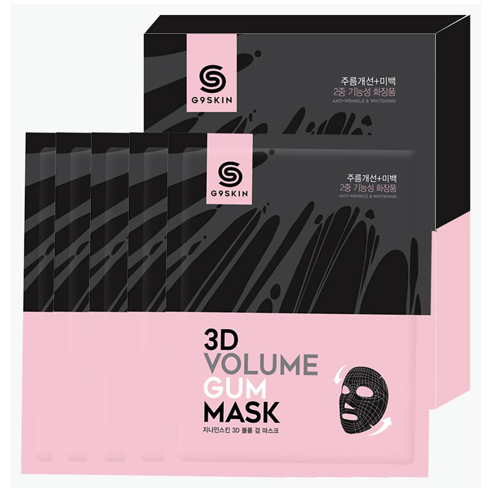 Купить Омолаживающая тканевая маска для лица G9SKIN 3D Volume Gum Mask 23 мл