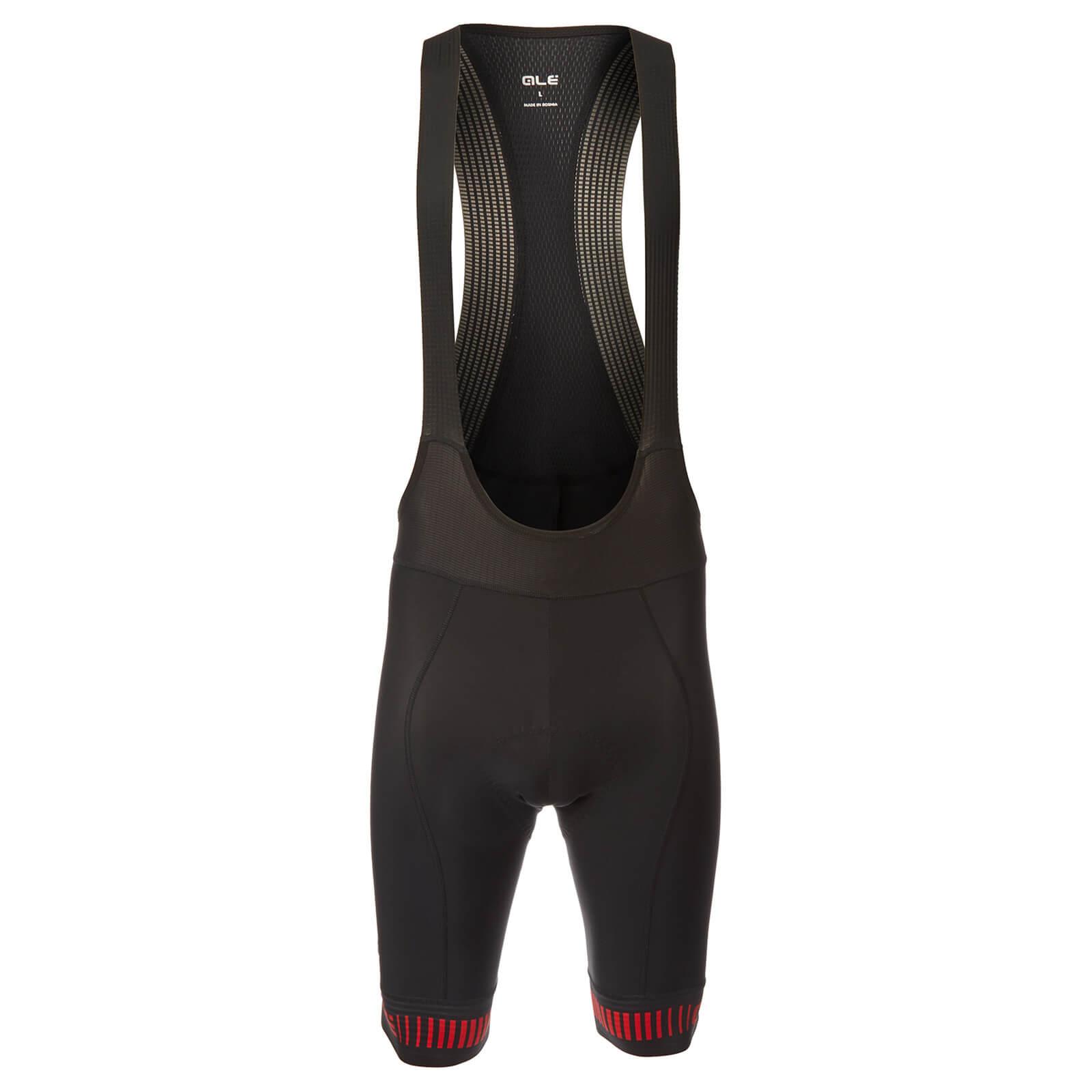 Alé PRR Strada Bib Shorts - XL - Black/Red