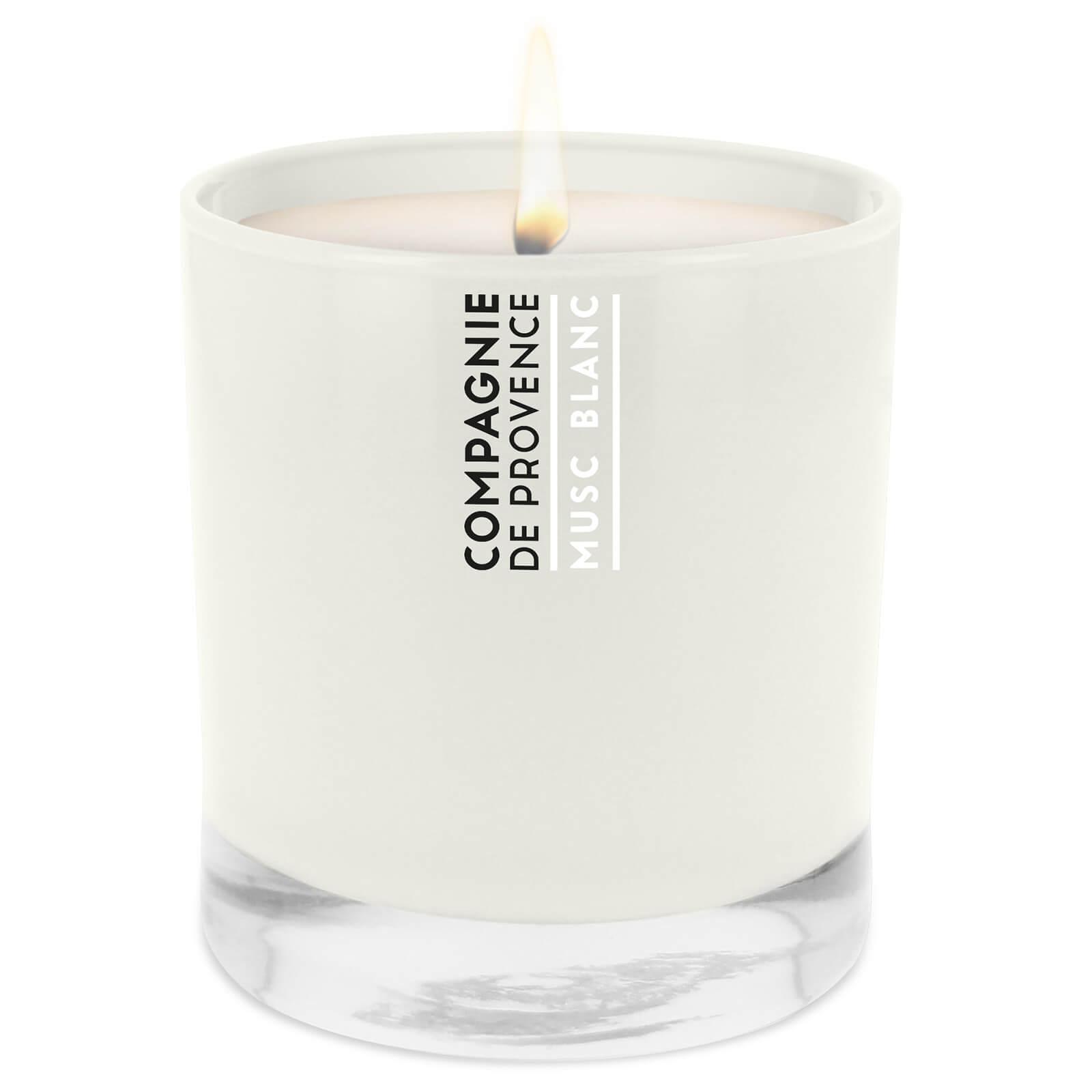Купить Парфюмированная свеча Compagnie de Provence White Musk Scented Candle 260 г
