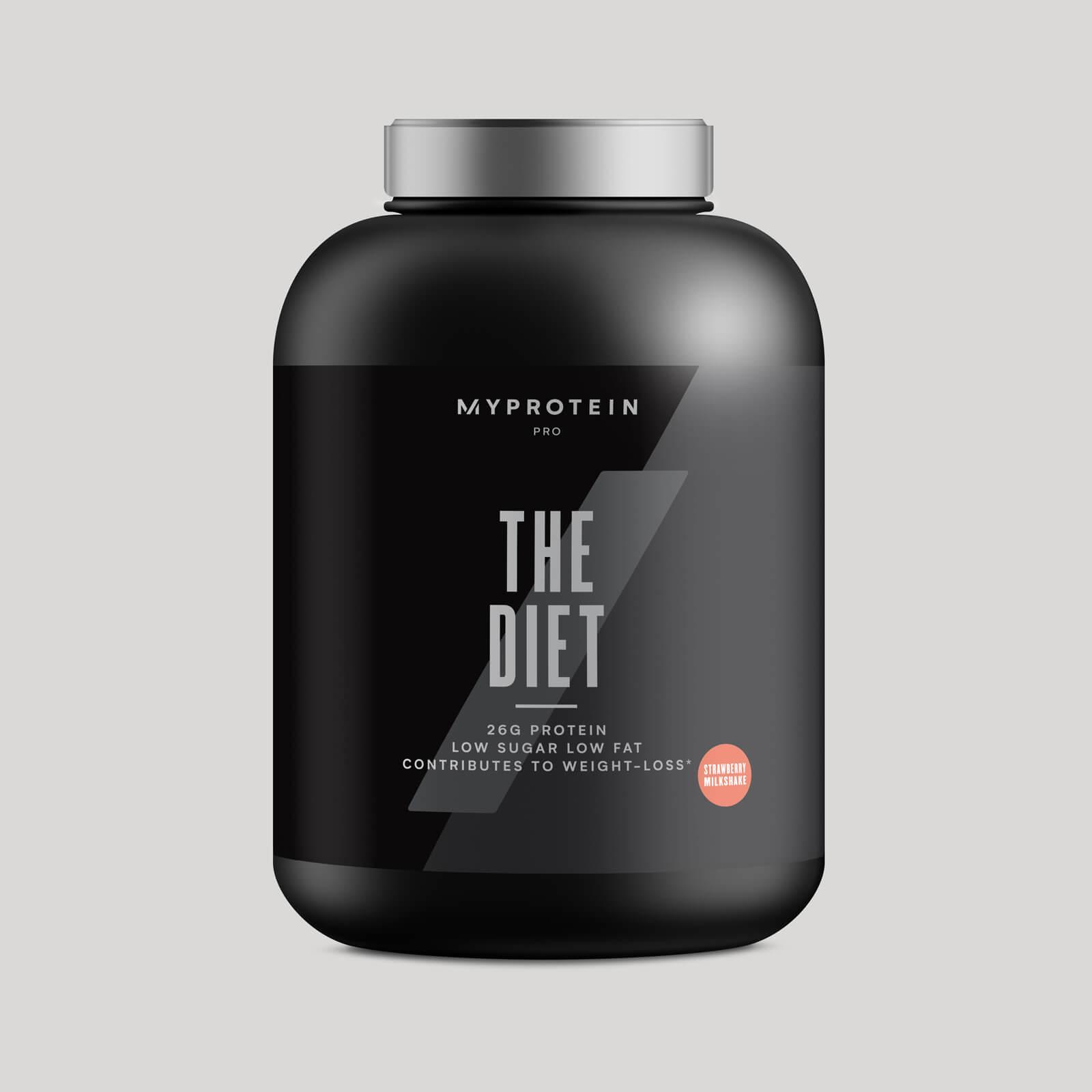THE Diet - 60servings - Milkshake Fraise