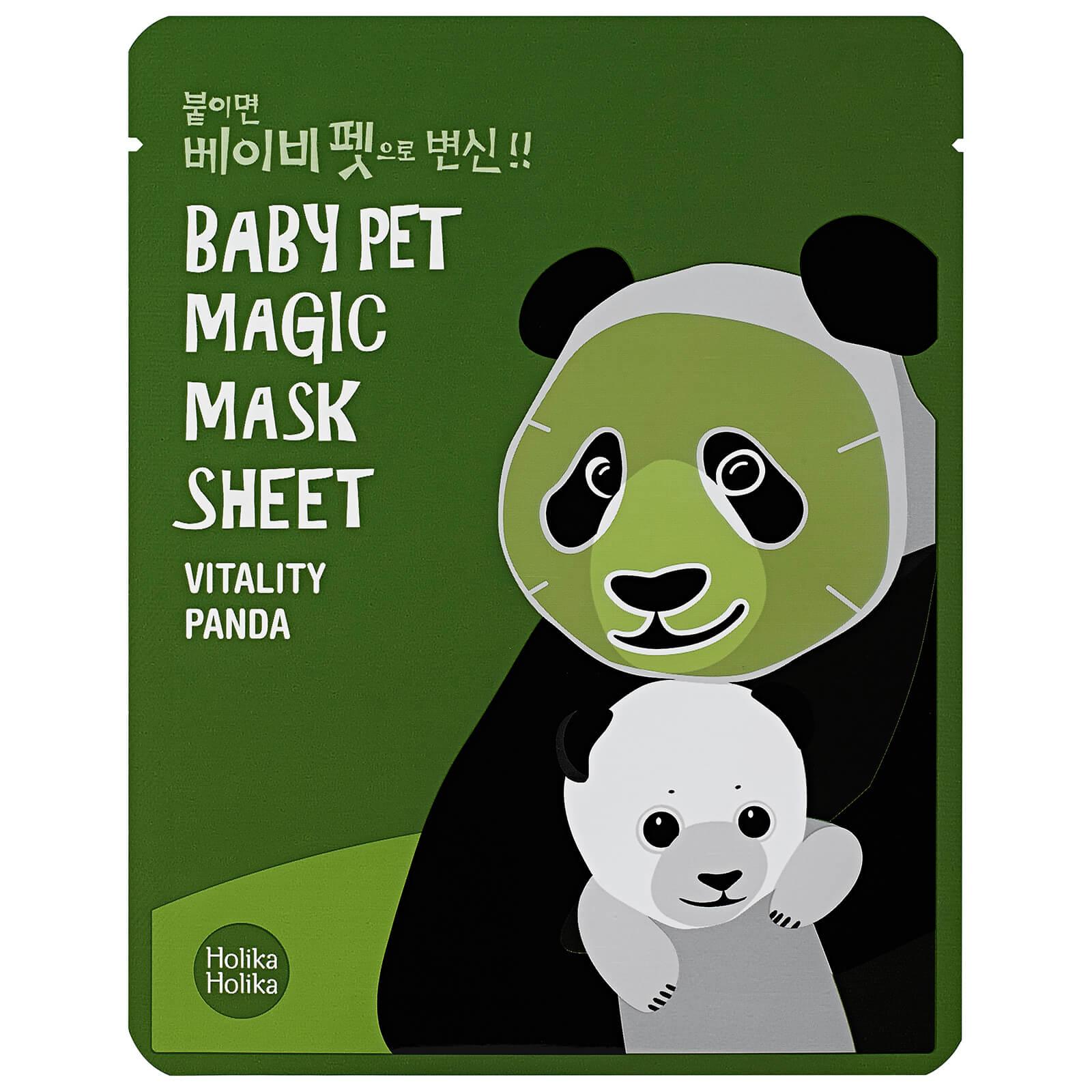 Купить Тканевая маска-мордочка против темных кругов под глазами Holika Holika Baby Pet Magic Mask Sheet (панда)