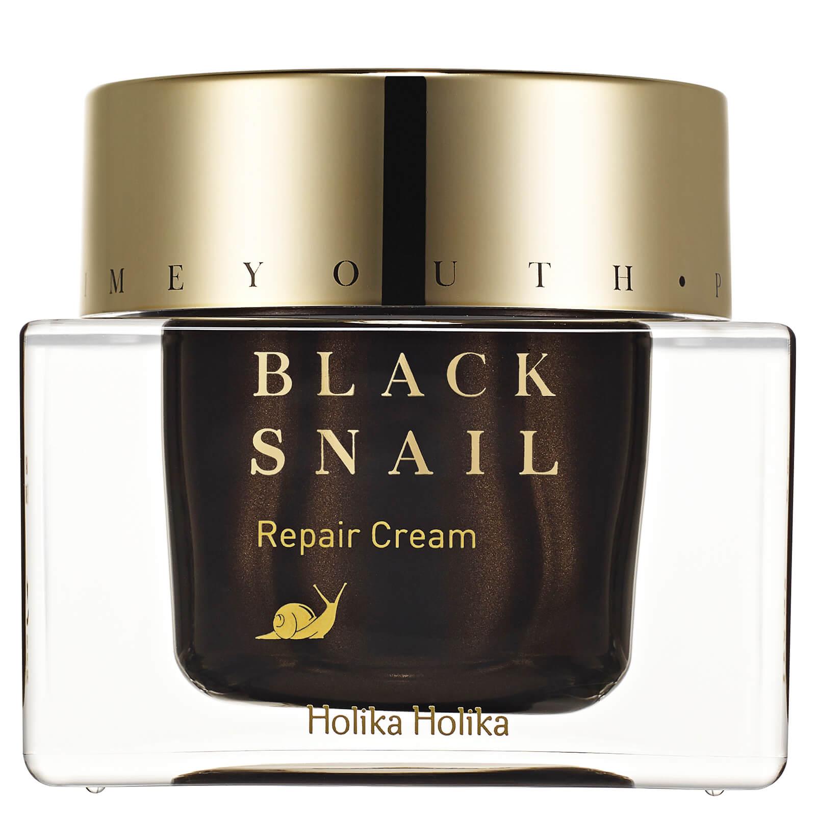 Holika Holika Prime Youth Black Snail crema riparatrice alla bava di lumaca