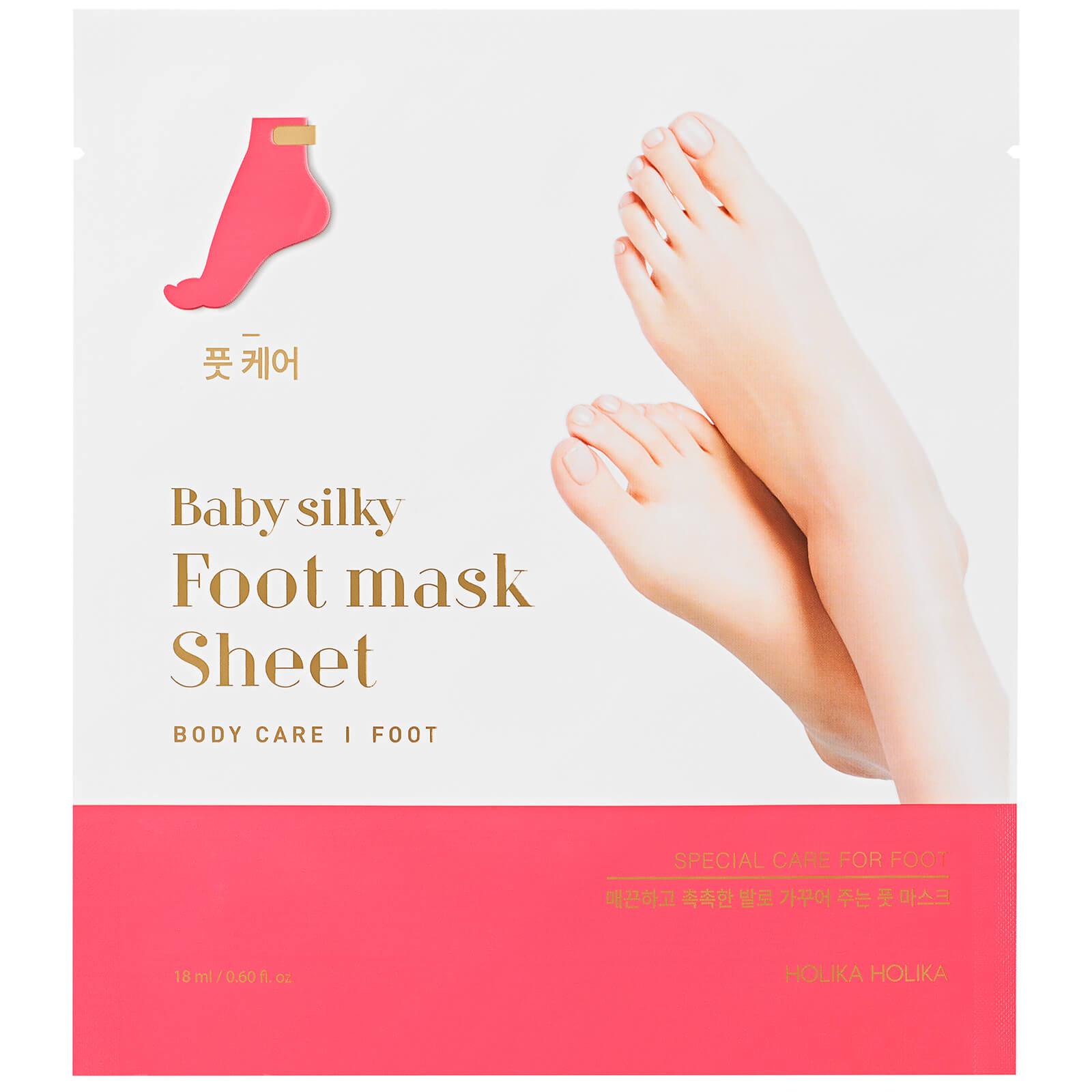 Купить Увлажняющая тканевая маска для ног Holika Holika Baby Silky Foot Mask Sheet