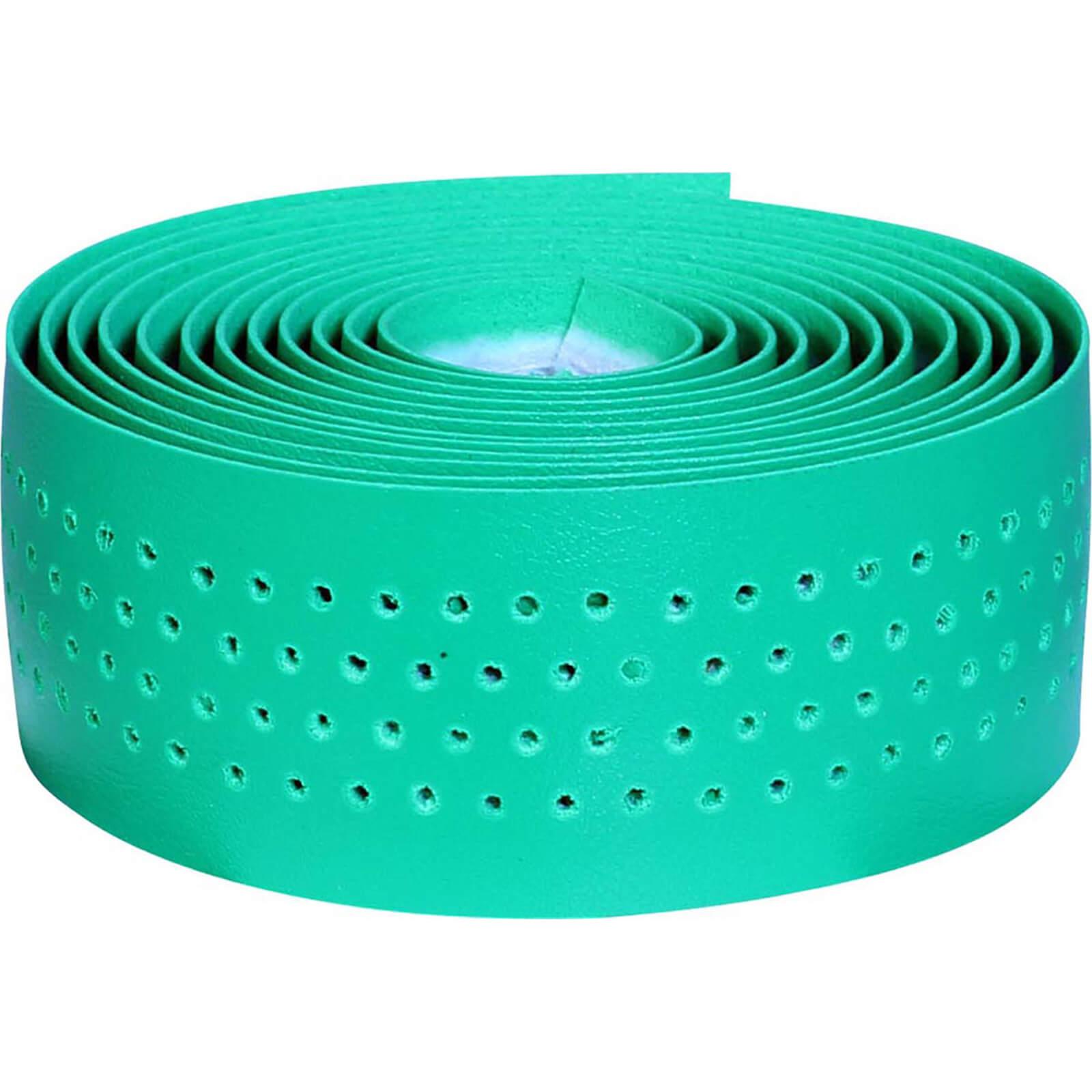 velox soft grip cork bar tape - green
