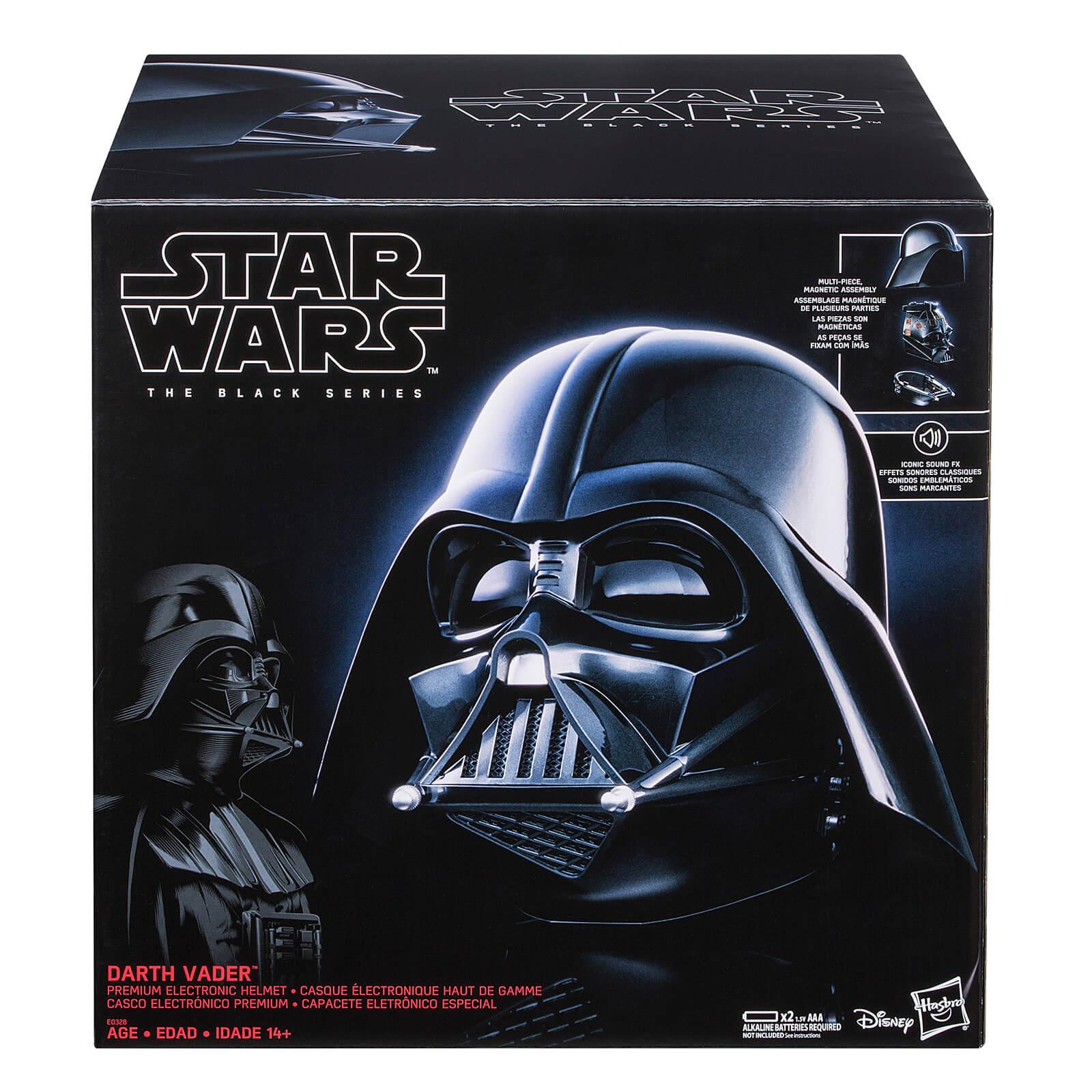 Casco Elettronico Replica Darth Vader - Hasbro Star Wars The Black Series