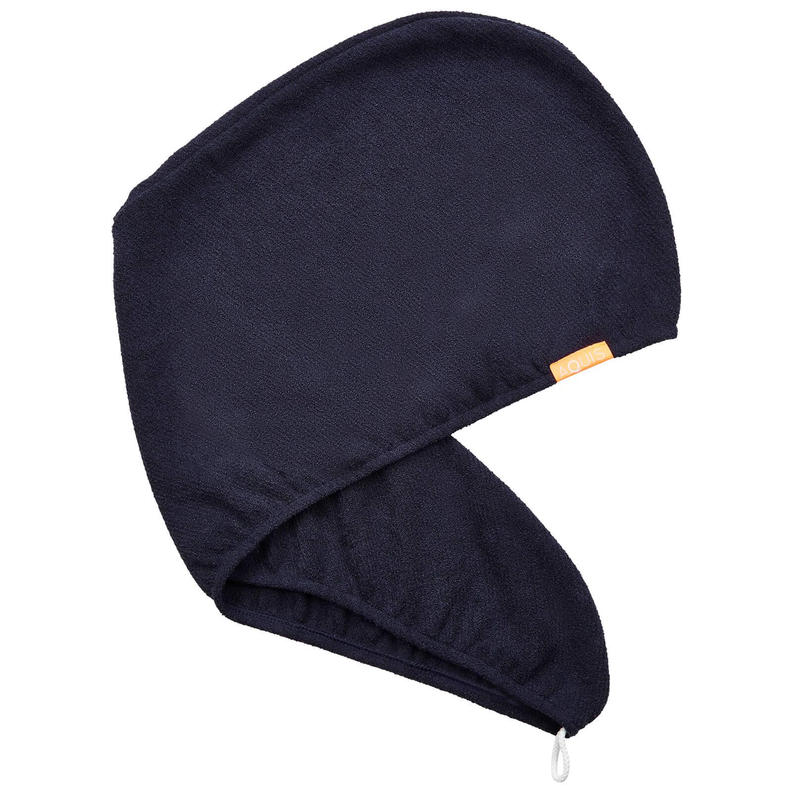 Тюрбан для сушки волос Aquis Lisse Luxe Hair Turban — Stormy Sky  - Купить