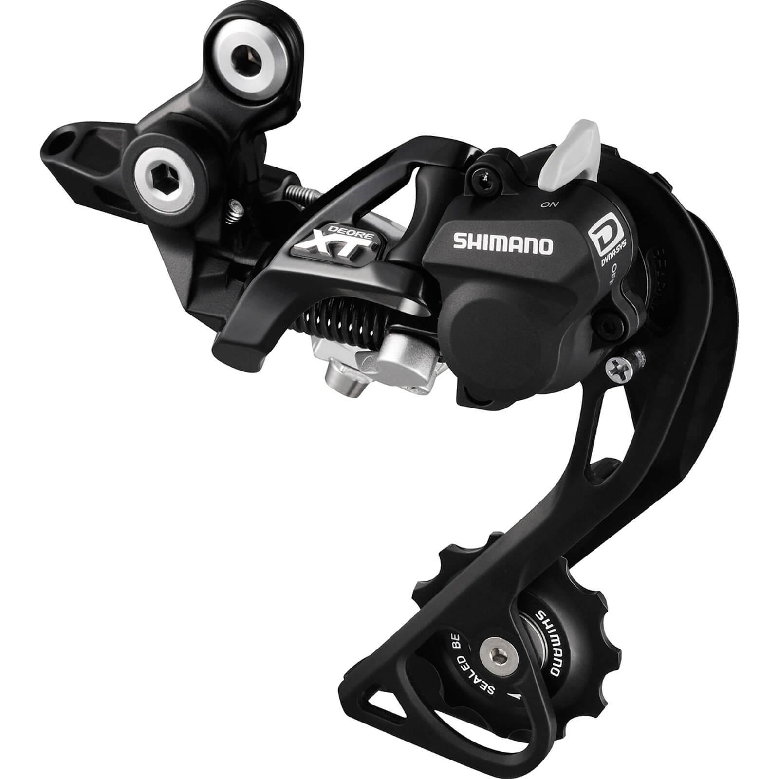 Shimano RD-M8000 XT 11-Speed Shadow+ Design Rear Derailleur - Black - Medium Cage