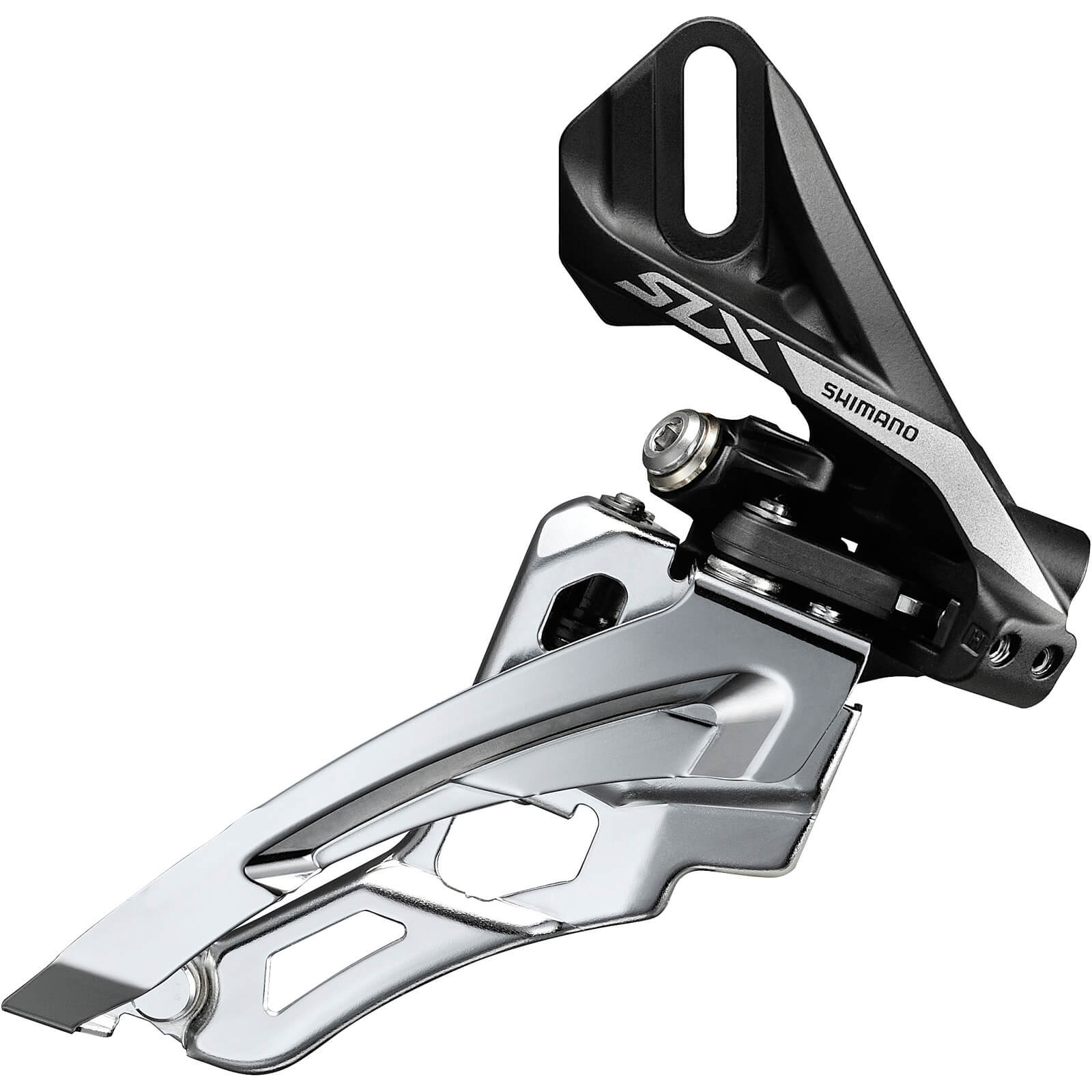 Shimano SLX M7000 Triple 10-Speed Front Derailleur - Side Swing - Front-Pull - High Clamp