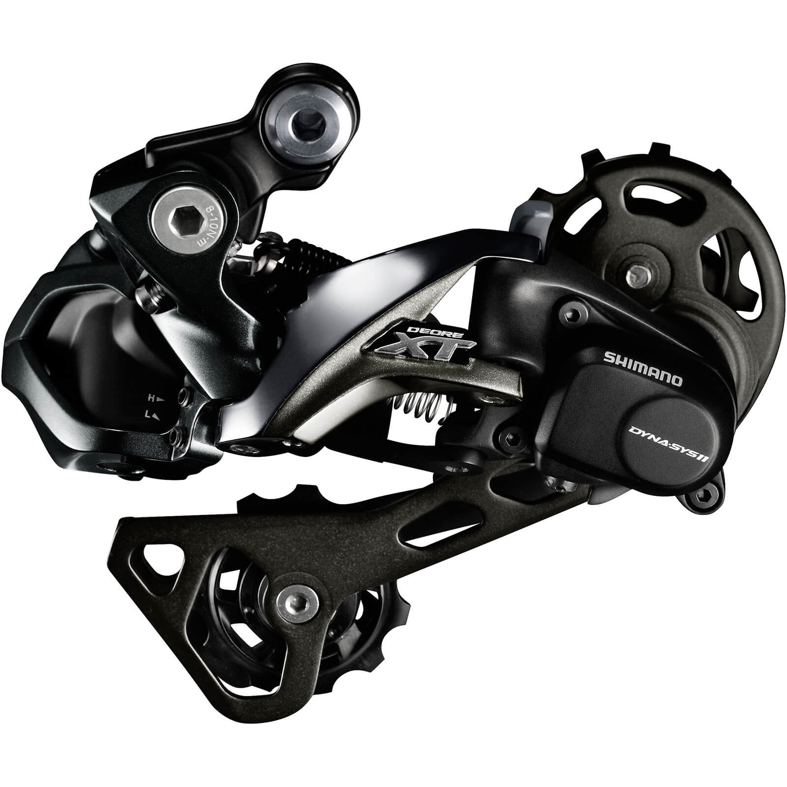 Shimano RD-M8050 XT Di2 E-Tube Rear Derailleur - GS Medium Cage - Shadow+ 11-Speed