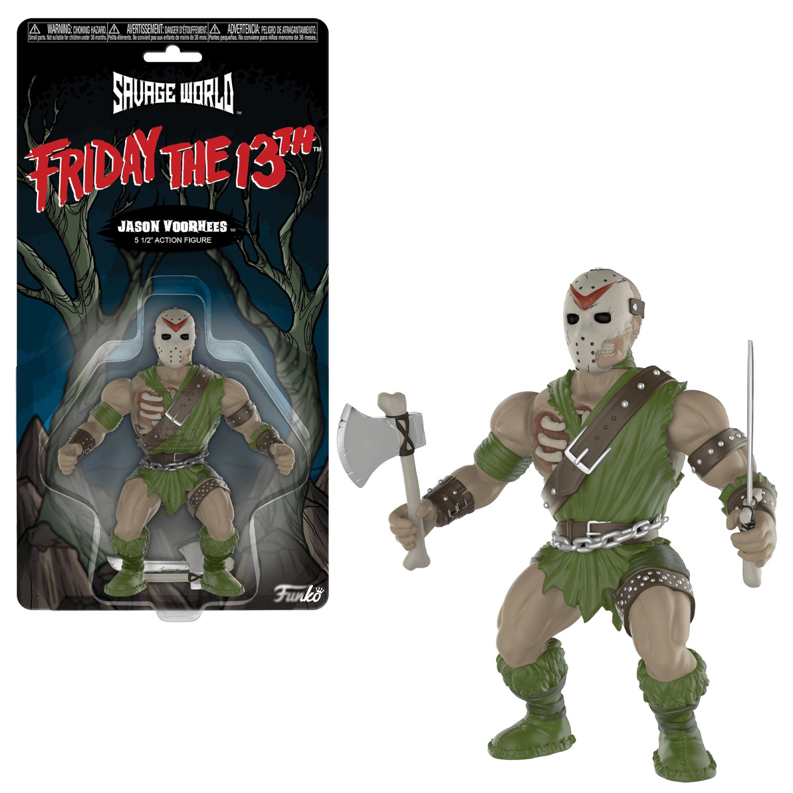 Funko Savage World: Friday The 13th   Jason Voorhees Action Figure