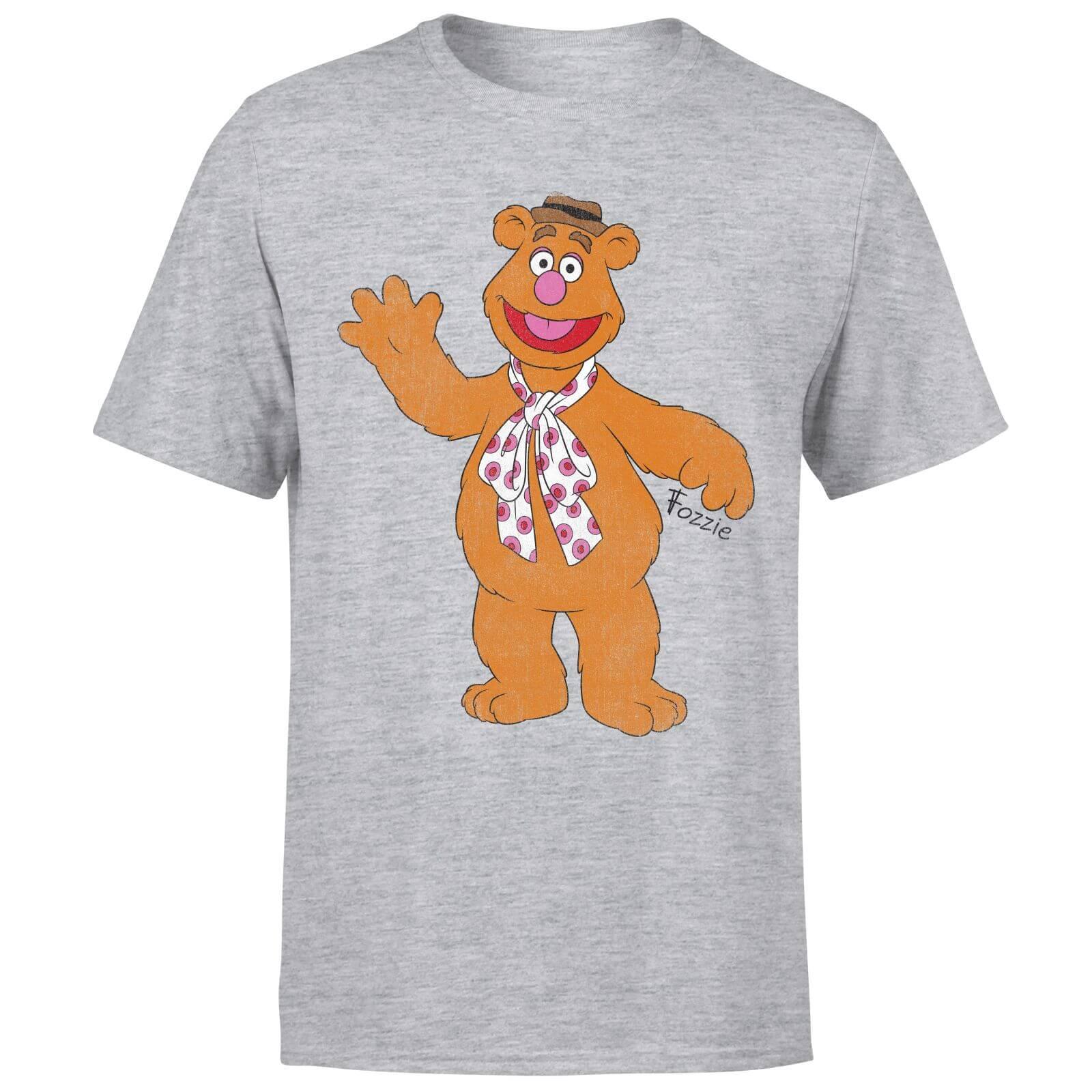 Disney Disney Muppets Fozzie Bear Classic T-Shirt - Grey - 4XL - Grey