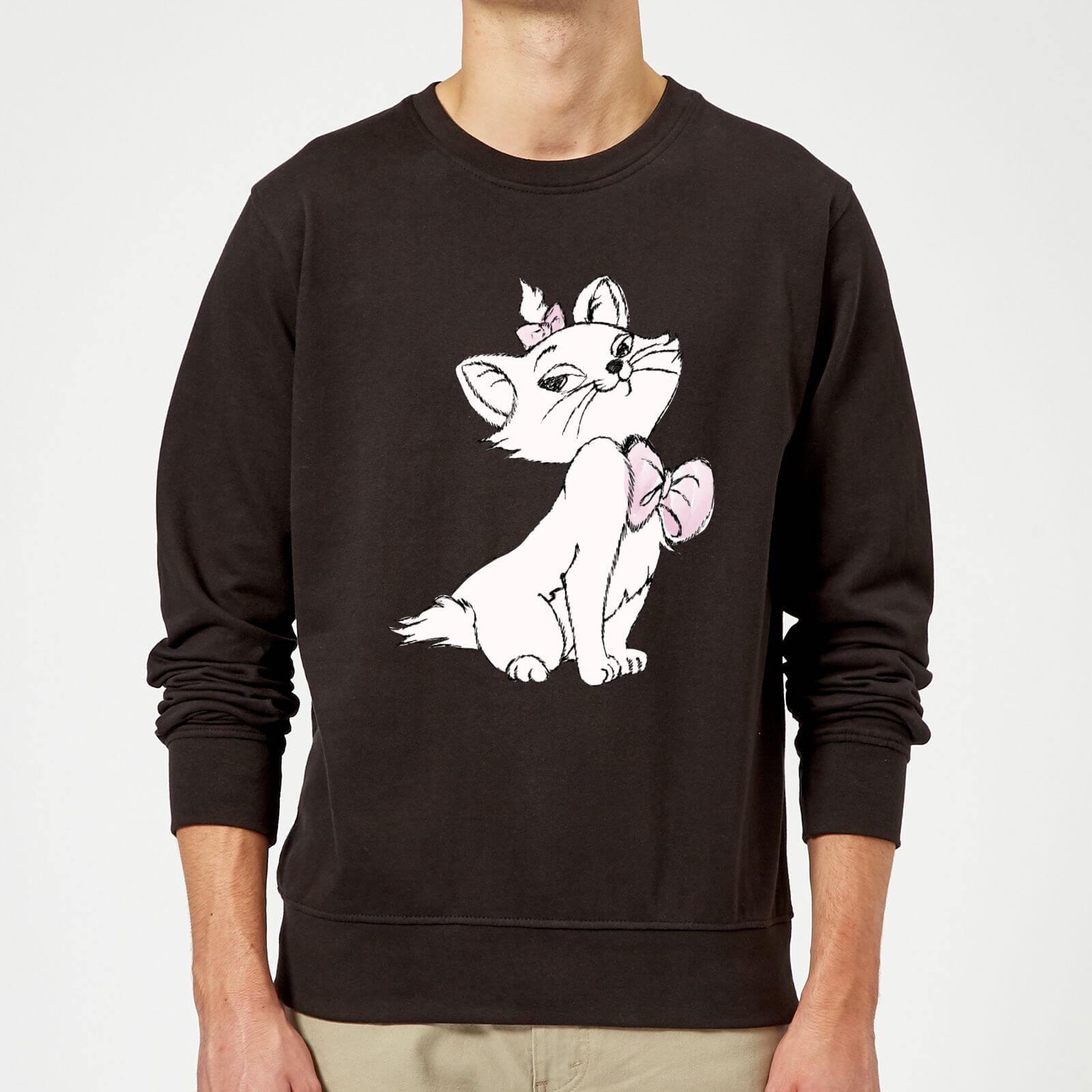 Disney Disney Aristocats Marie Sweatshirt - Black - 5XL - Black