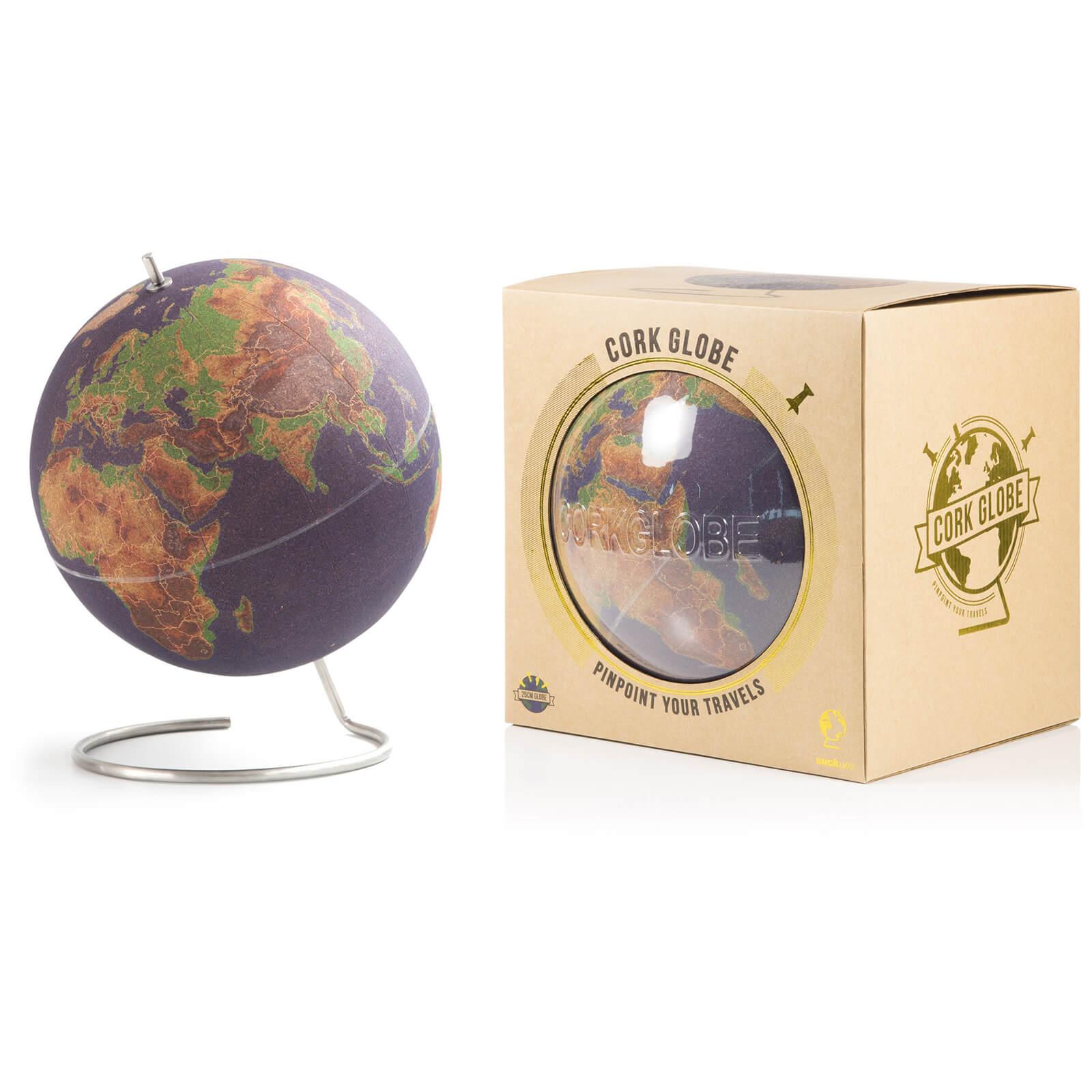 Image of Large Coloured Cork Globe