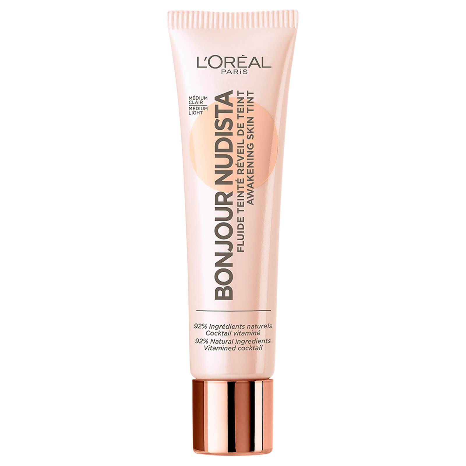 L'Oréal Paris Bonjour Nudista Skin Tint BB Cream 30ml (Various Shades) - Medium Light