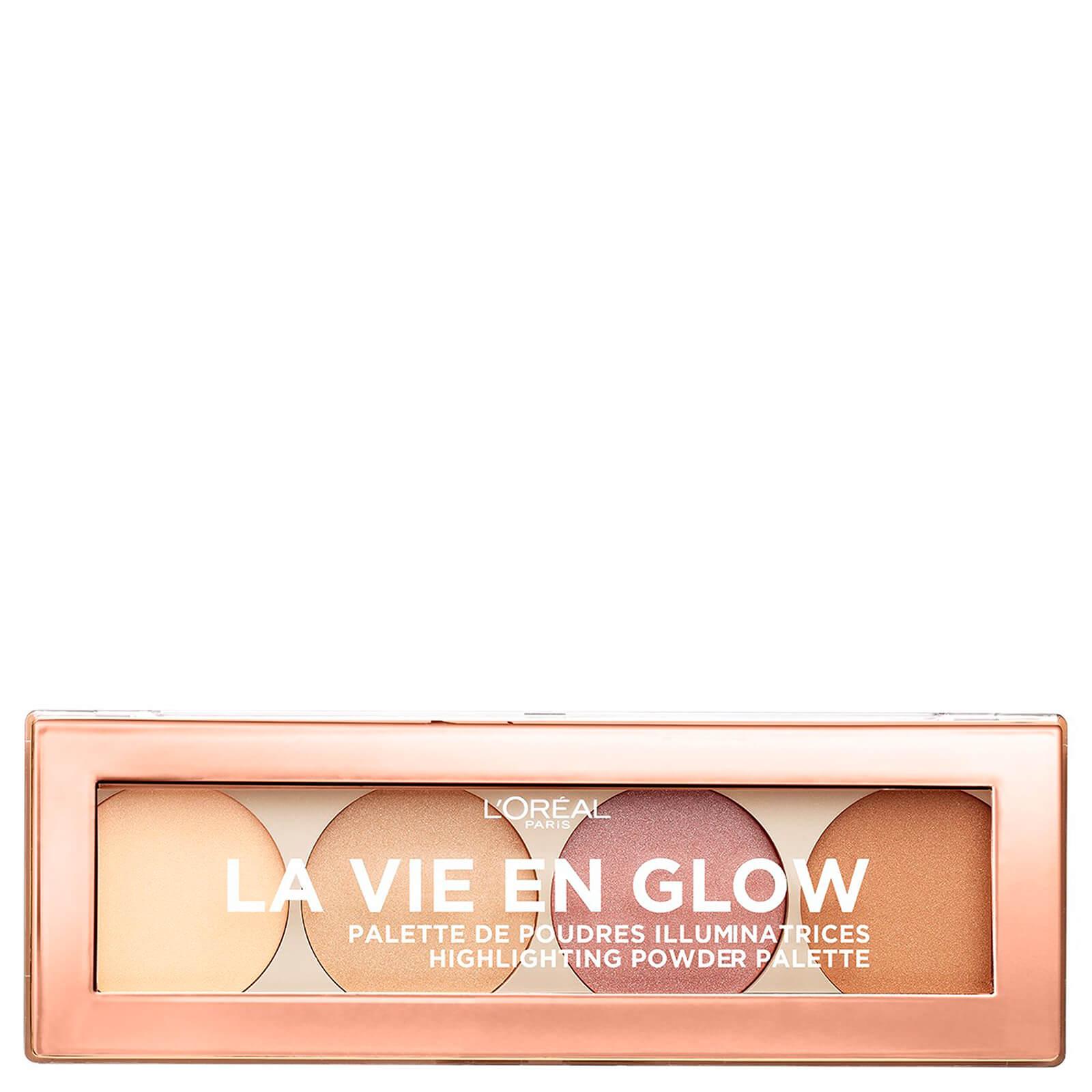 L'Oréal Paris La Vie En Glow Highlighting Powder Palette - Warm Glow 10g