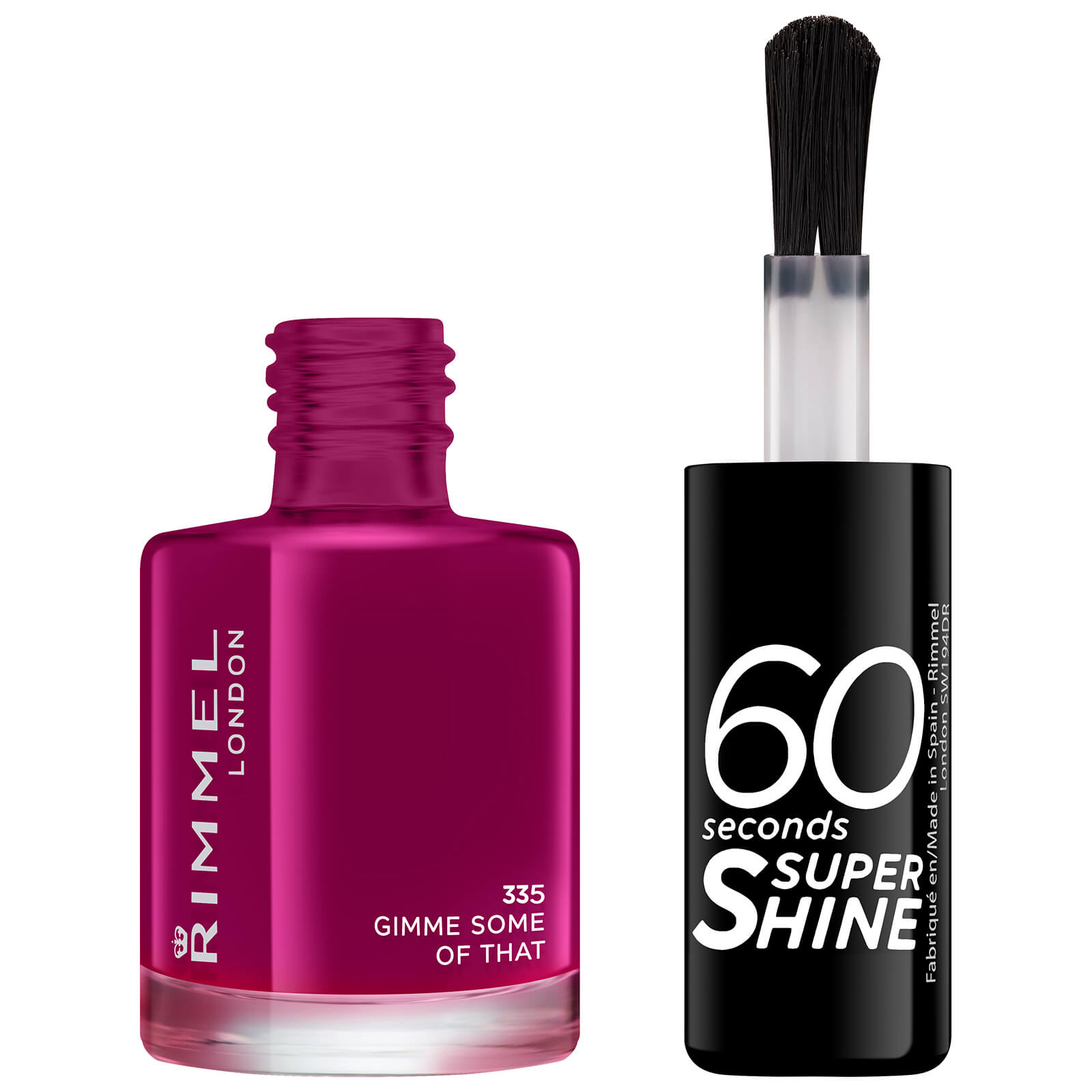 Rimmel 60 Seconds Super Shine Nail Polish 8ml (Various Shades) - Gimme Some of That